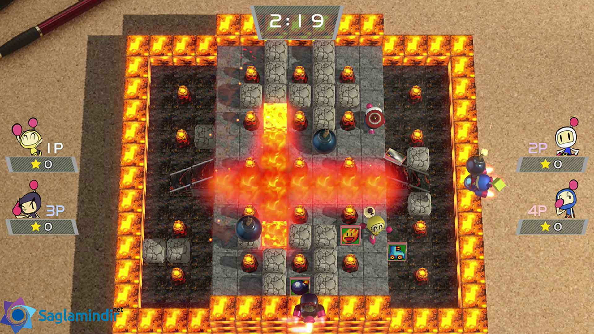 Super Bomberman R full indir
