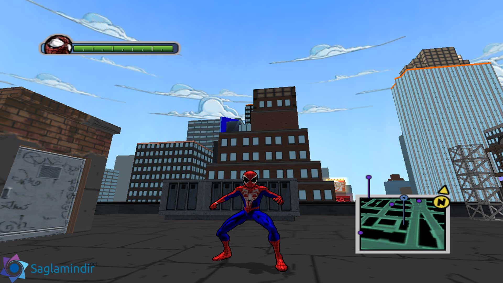 Ultimate Spider Man saglamindir