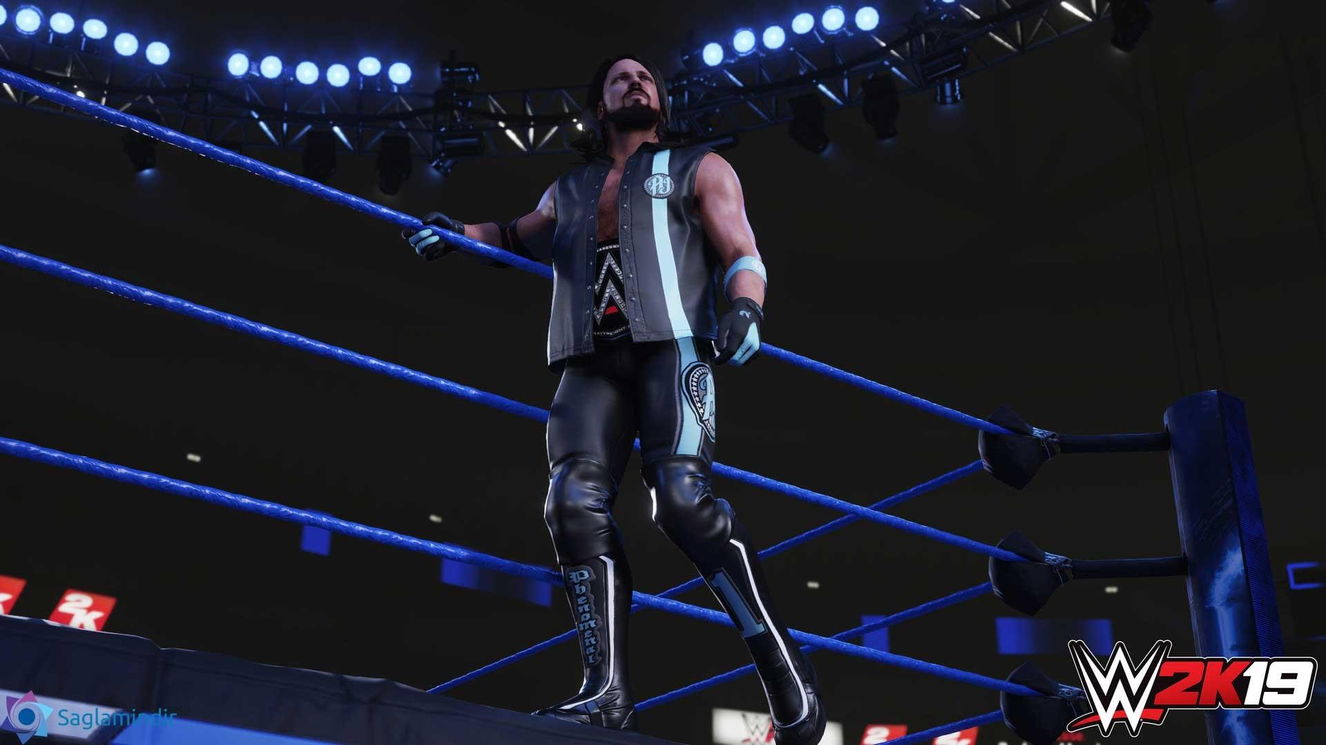 WWE 2K19 saglamindir