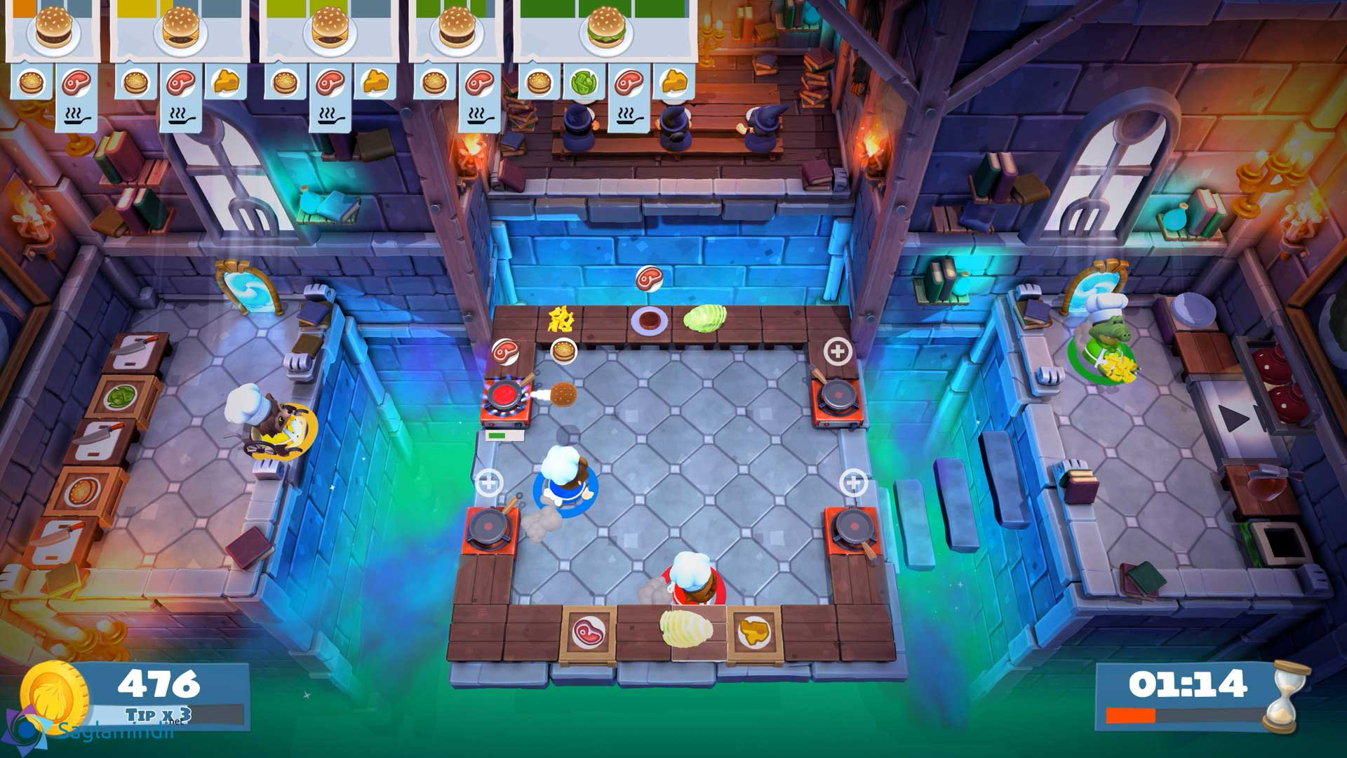 Overcooked 2 torrent indir