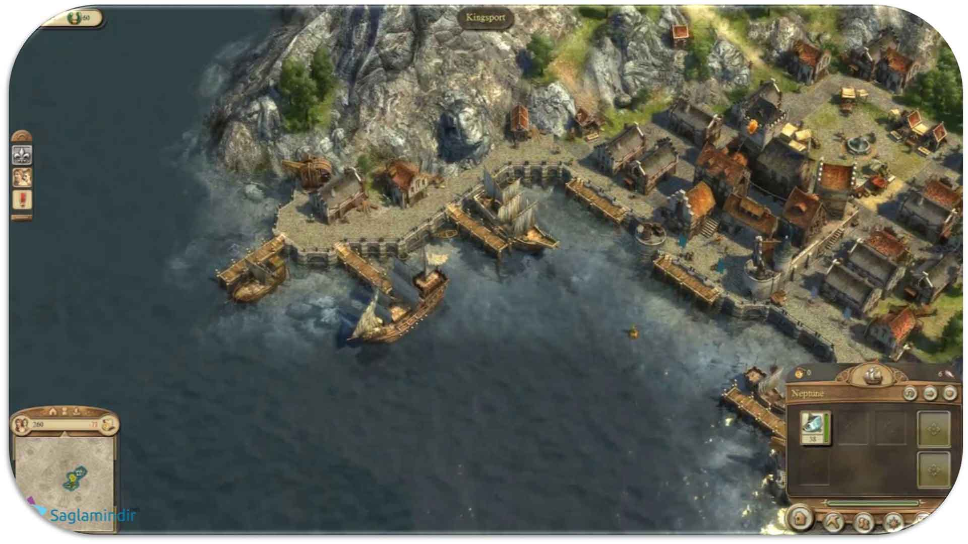 Anno 1404 Gold Edition saglamindir