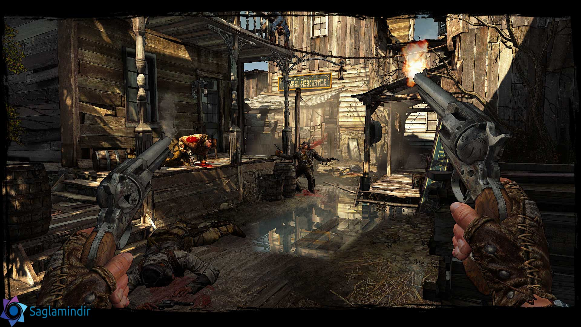 Call of Juarez Gunslinger saglamindir