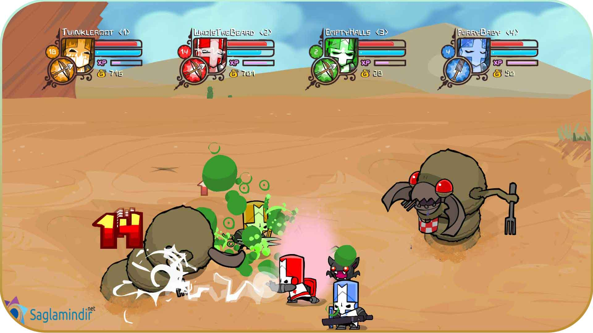 Castle Crashers torrent indir
