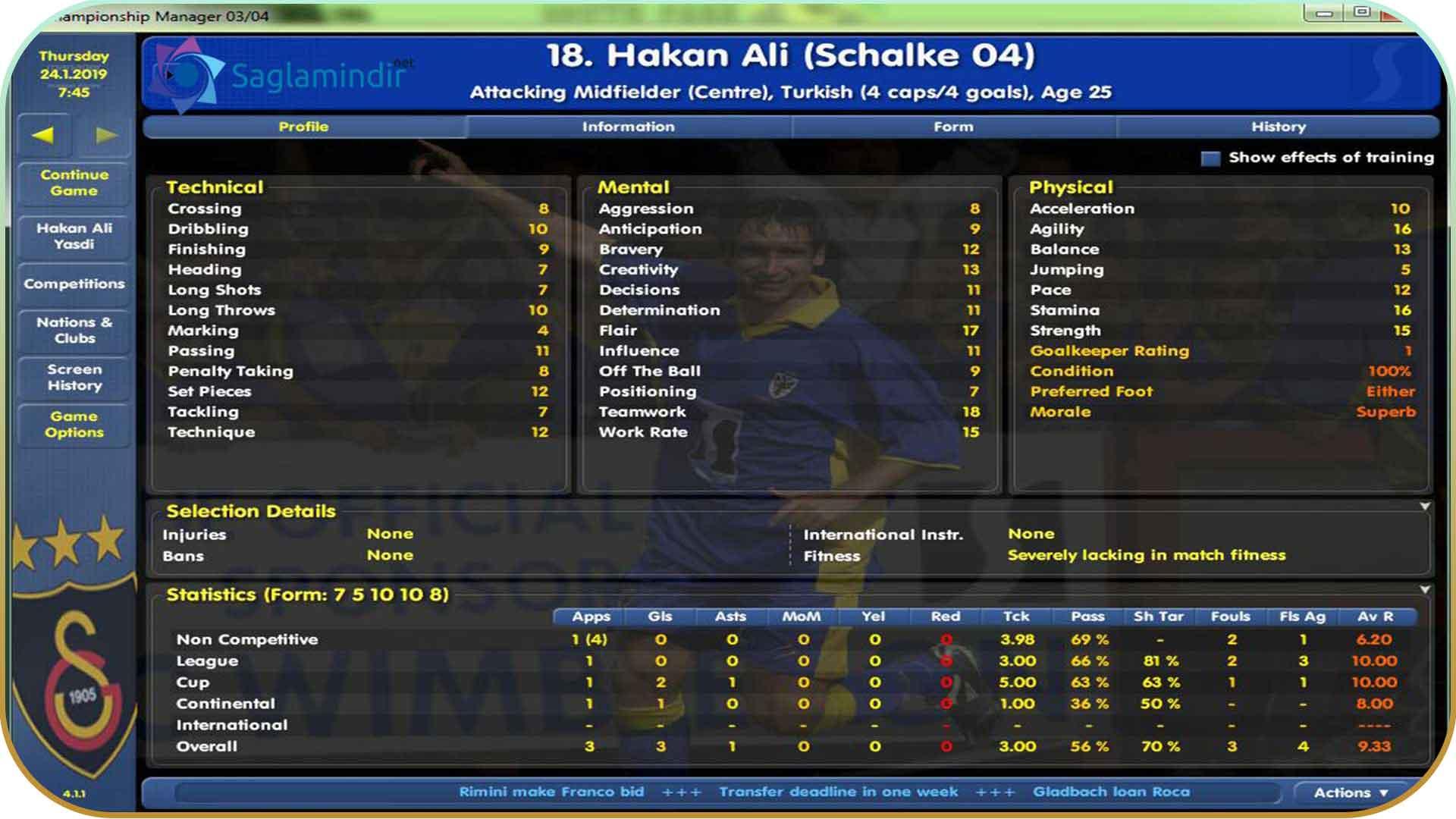 Championship Manager 03-04 full indir