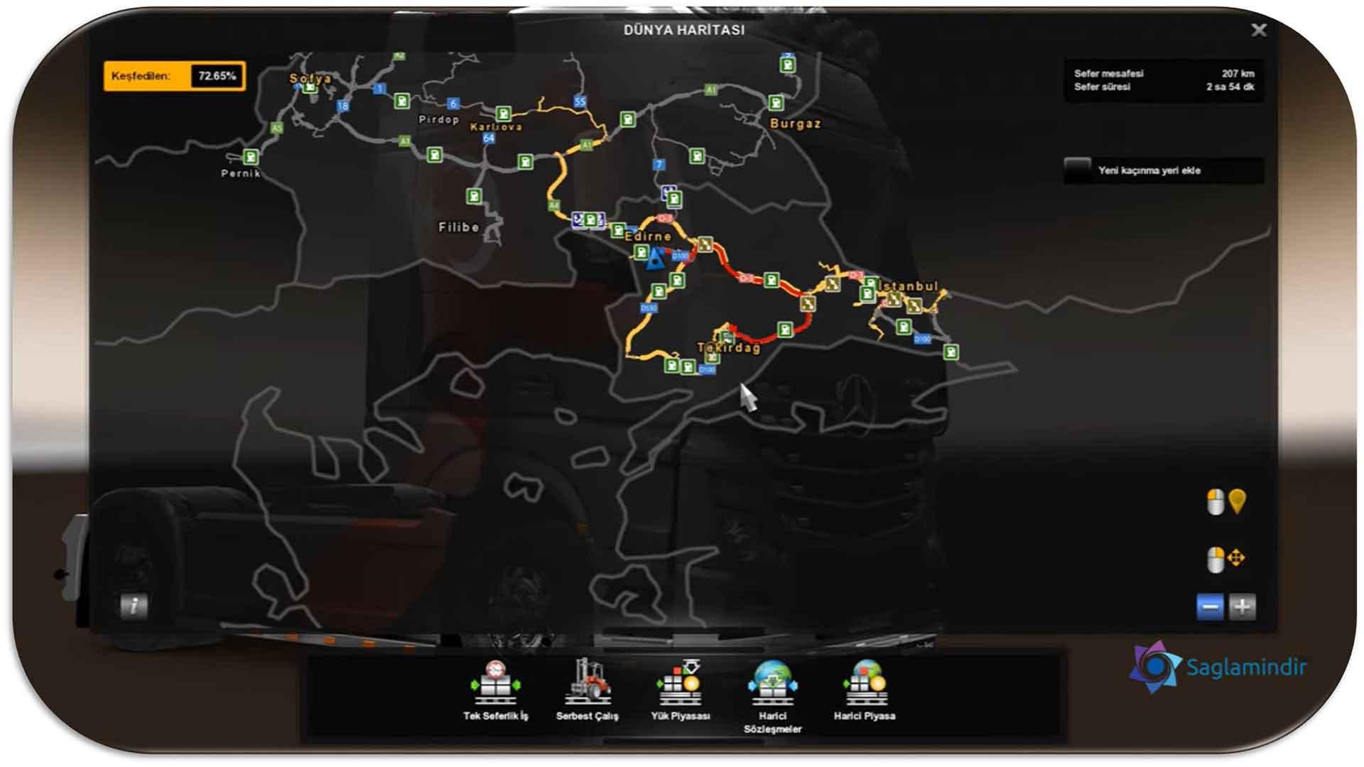 euro truck simulator 2 road to black sea türkiye