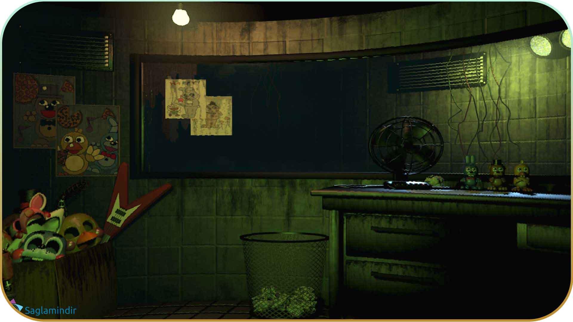 Five Nights at Freddy's 3 saglamindir