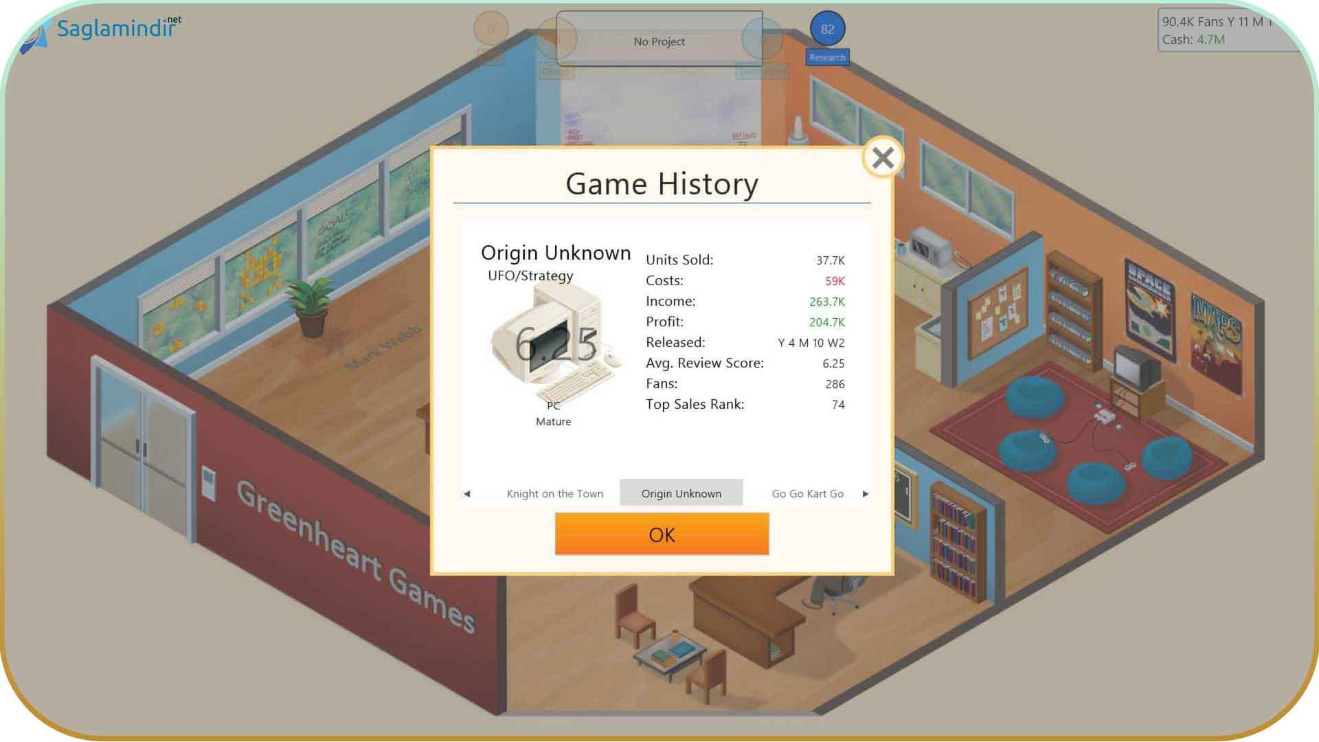 Game Dev Tycoon saglamindir