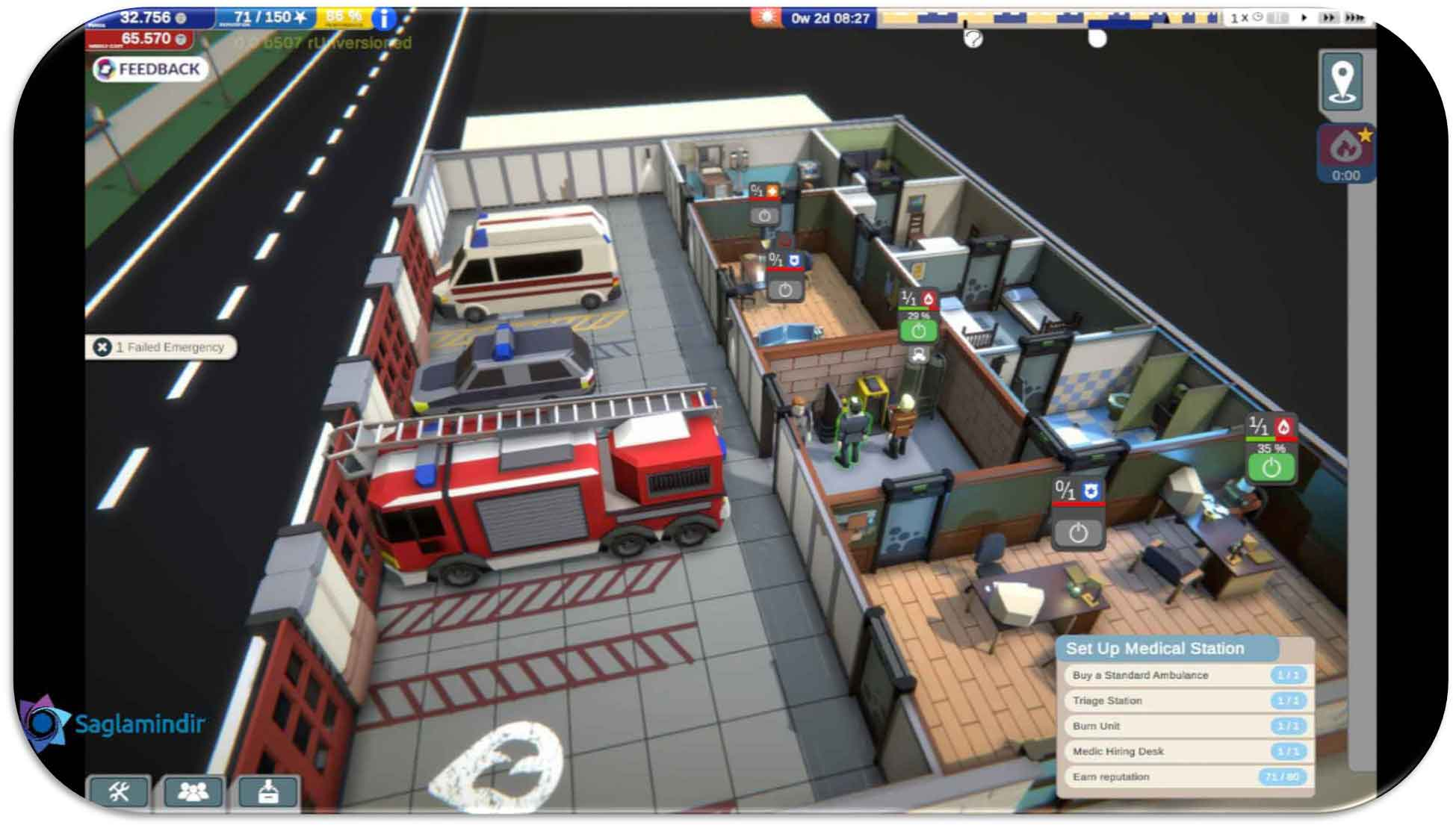 Rescue Hq The Tycoon full indir