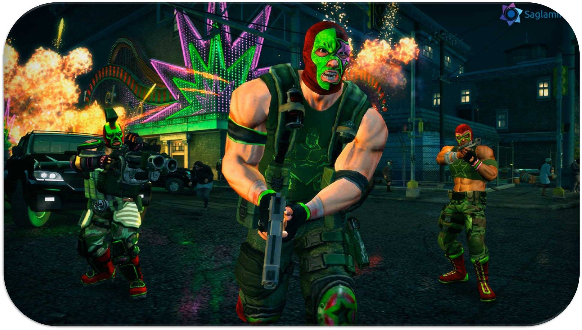 Saints Row The Third full indir