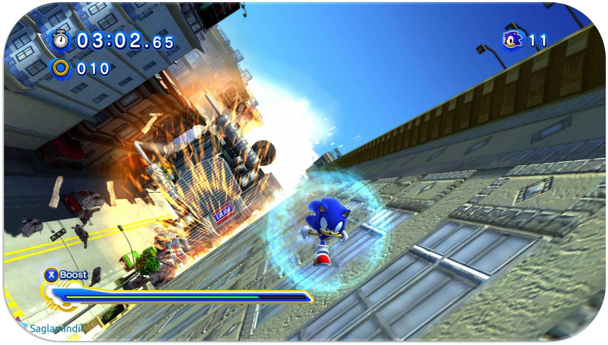Sonic Generations torrent indir