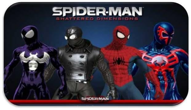 Spider-Man Shattered Dimensions indir