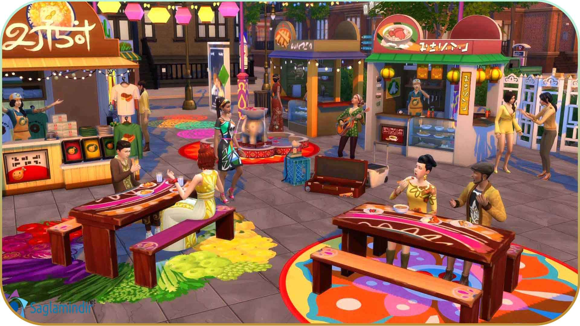 The Sims 4 City Living full indir
