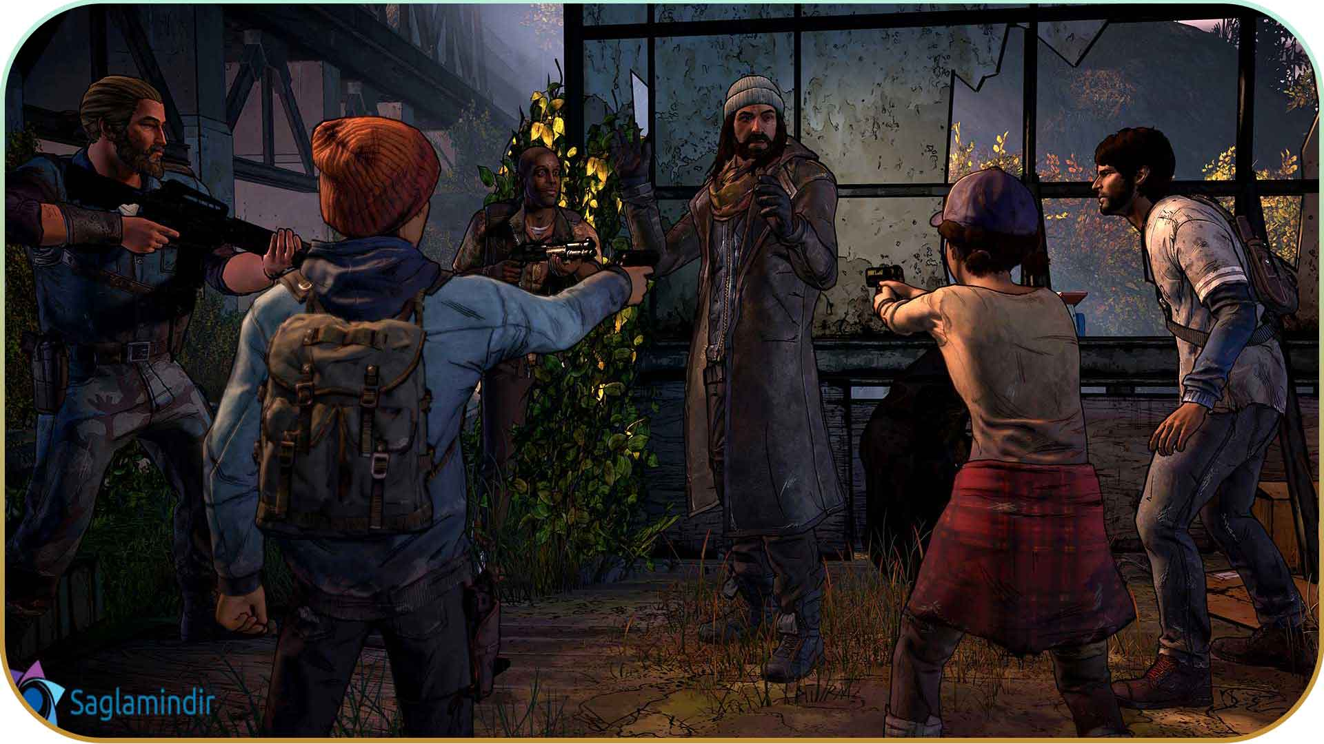 The Walking Dead A New Frontier full indir