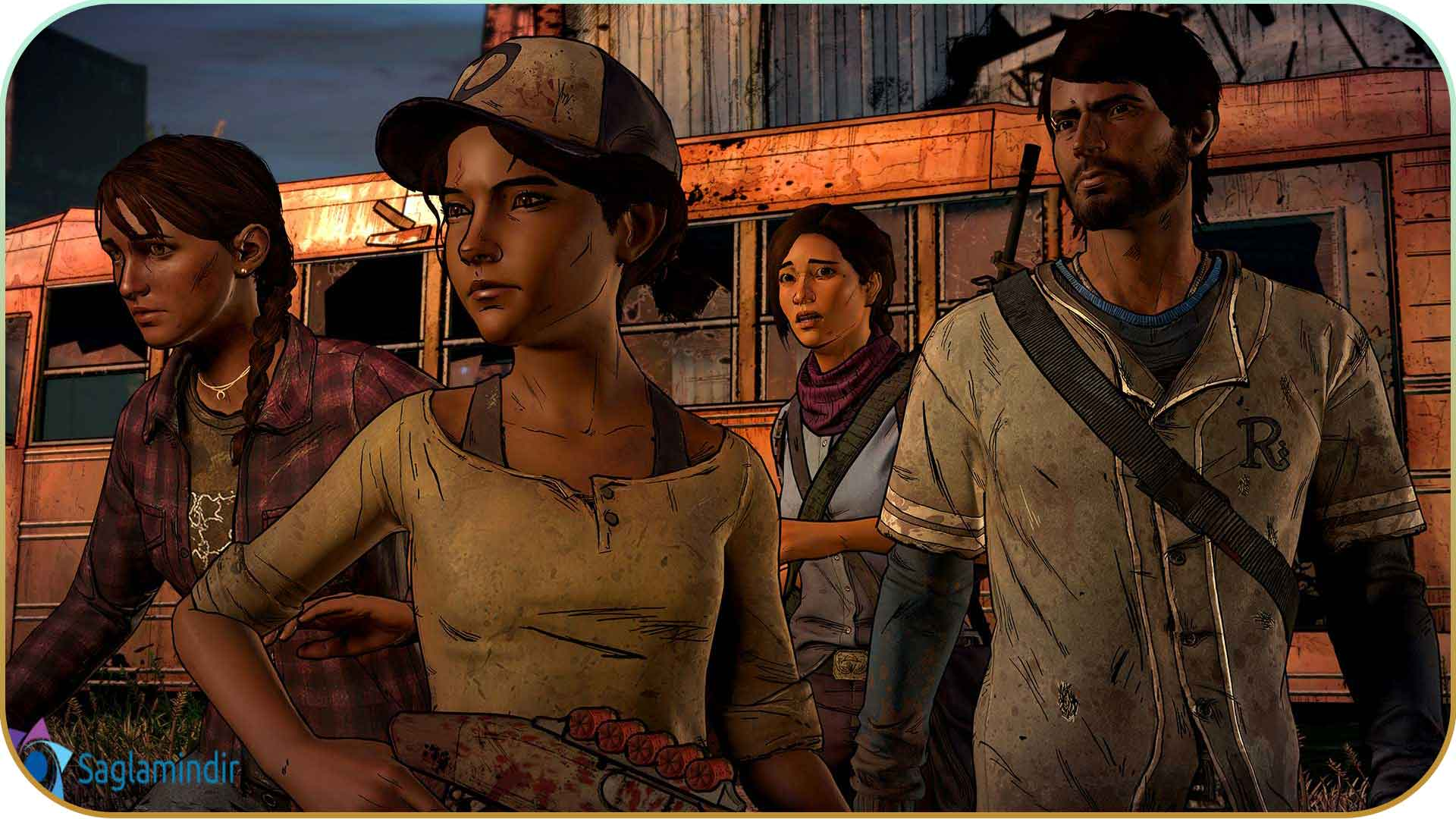 The Walking Dead A New Frontier saglamindir