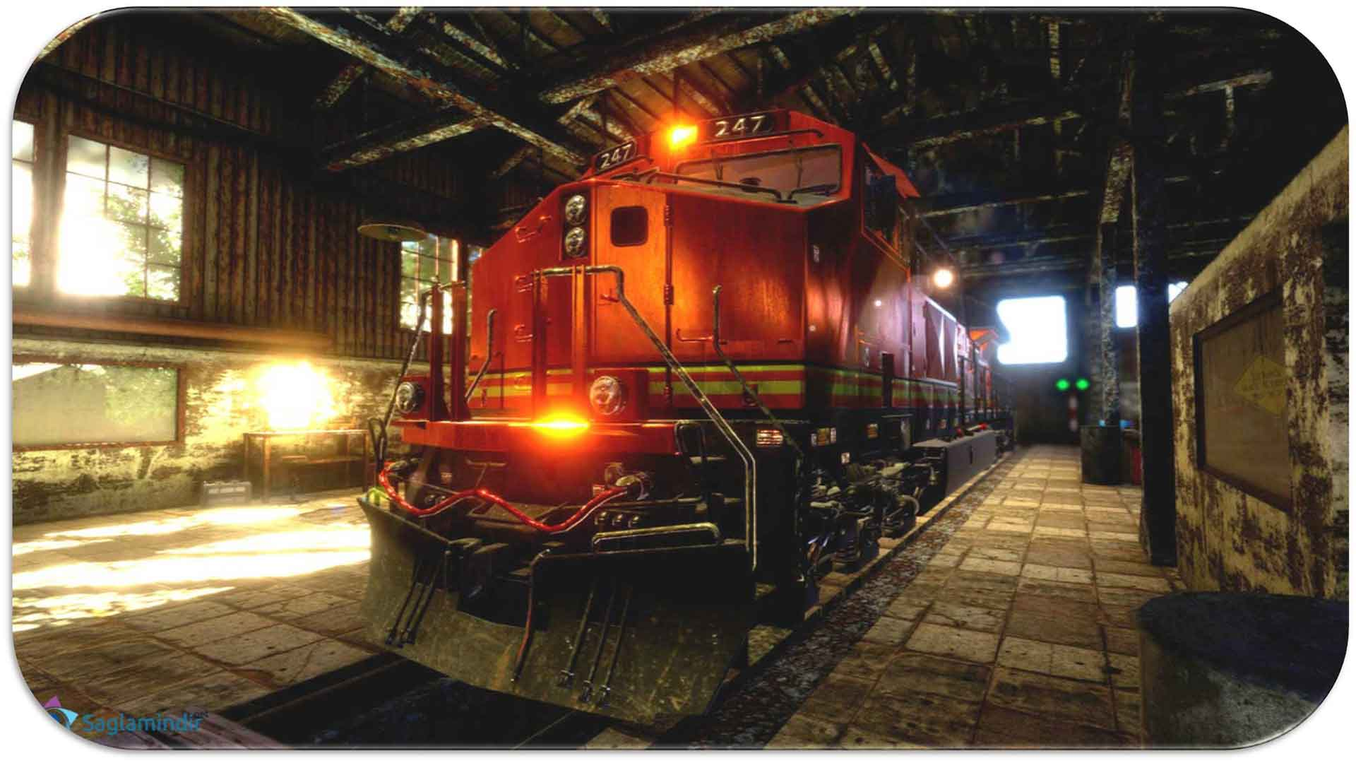 Train Mechanic Simulator full indir