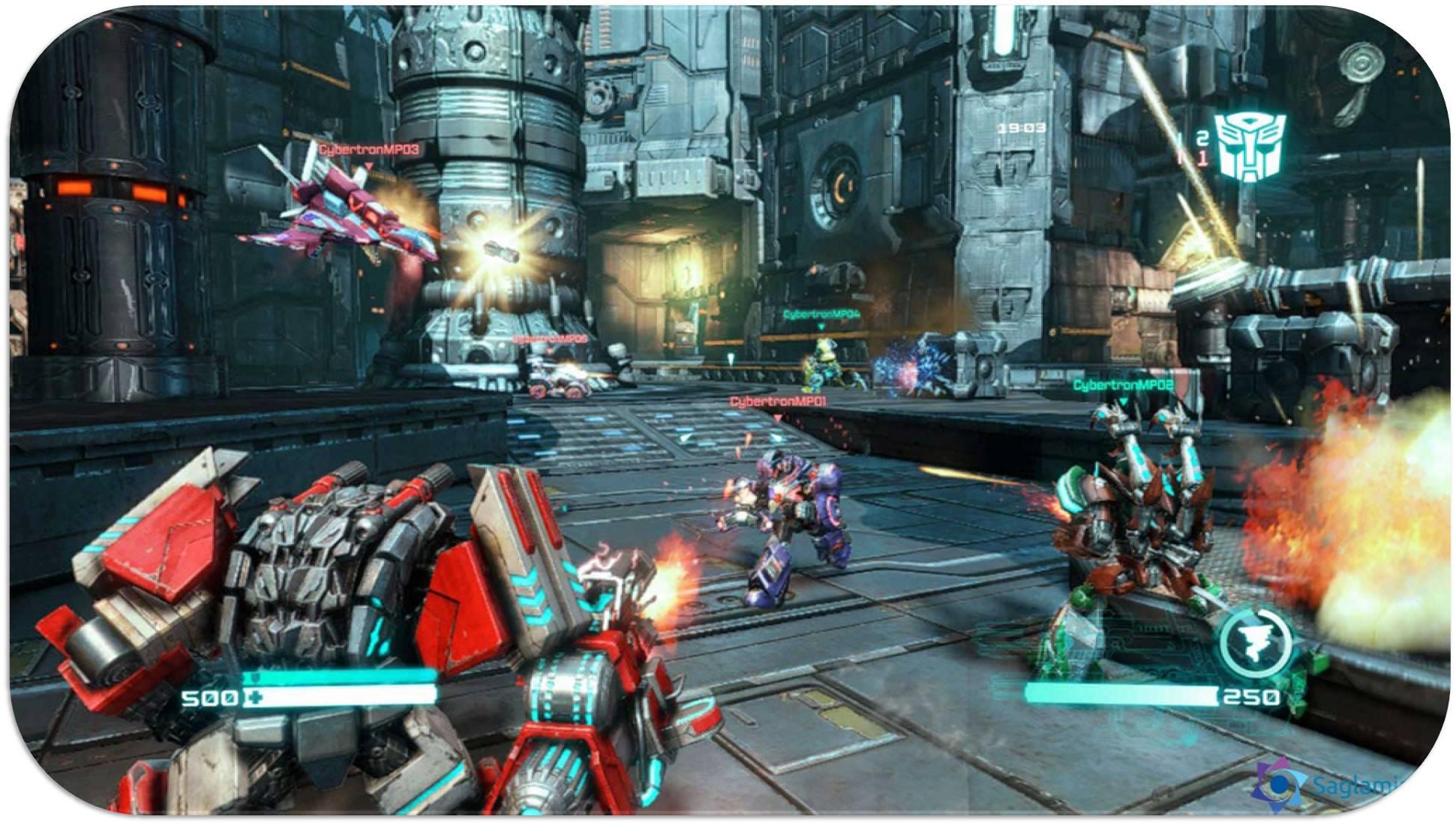 Transformers Fall of Cybertron torrent indir