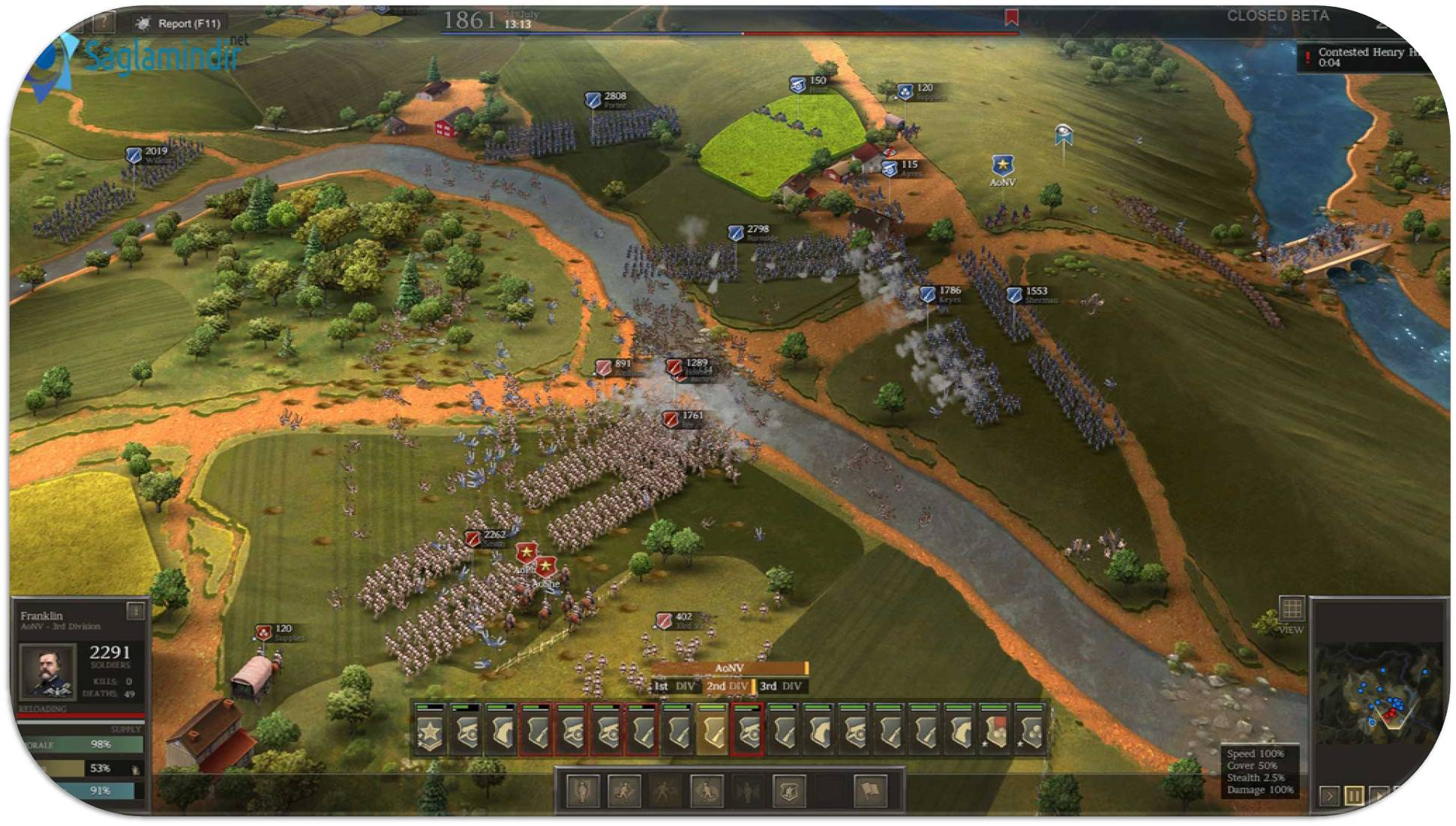 Ultimate General Civil War saglamindir