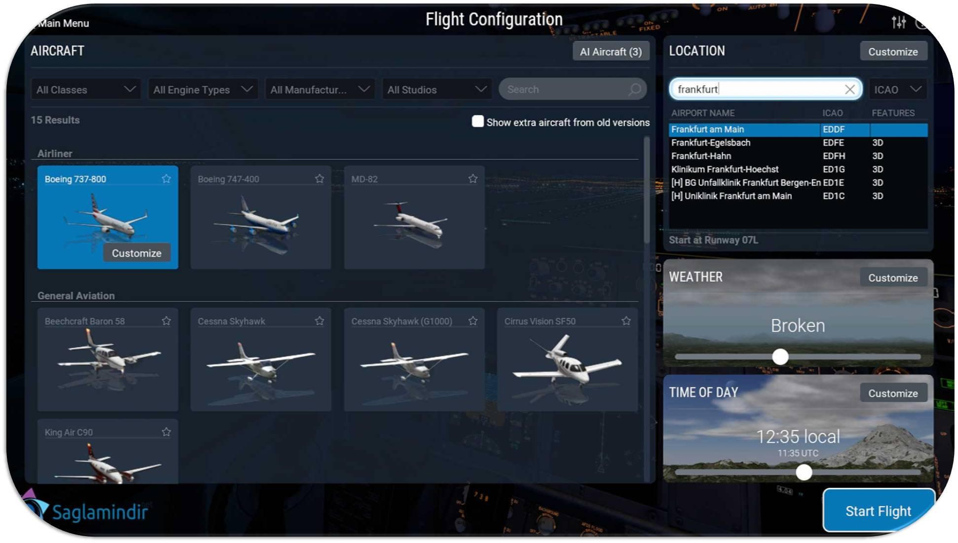 X-Plane 11 full indir