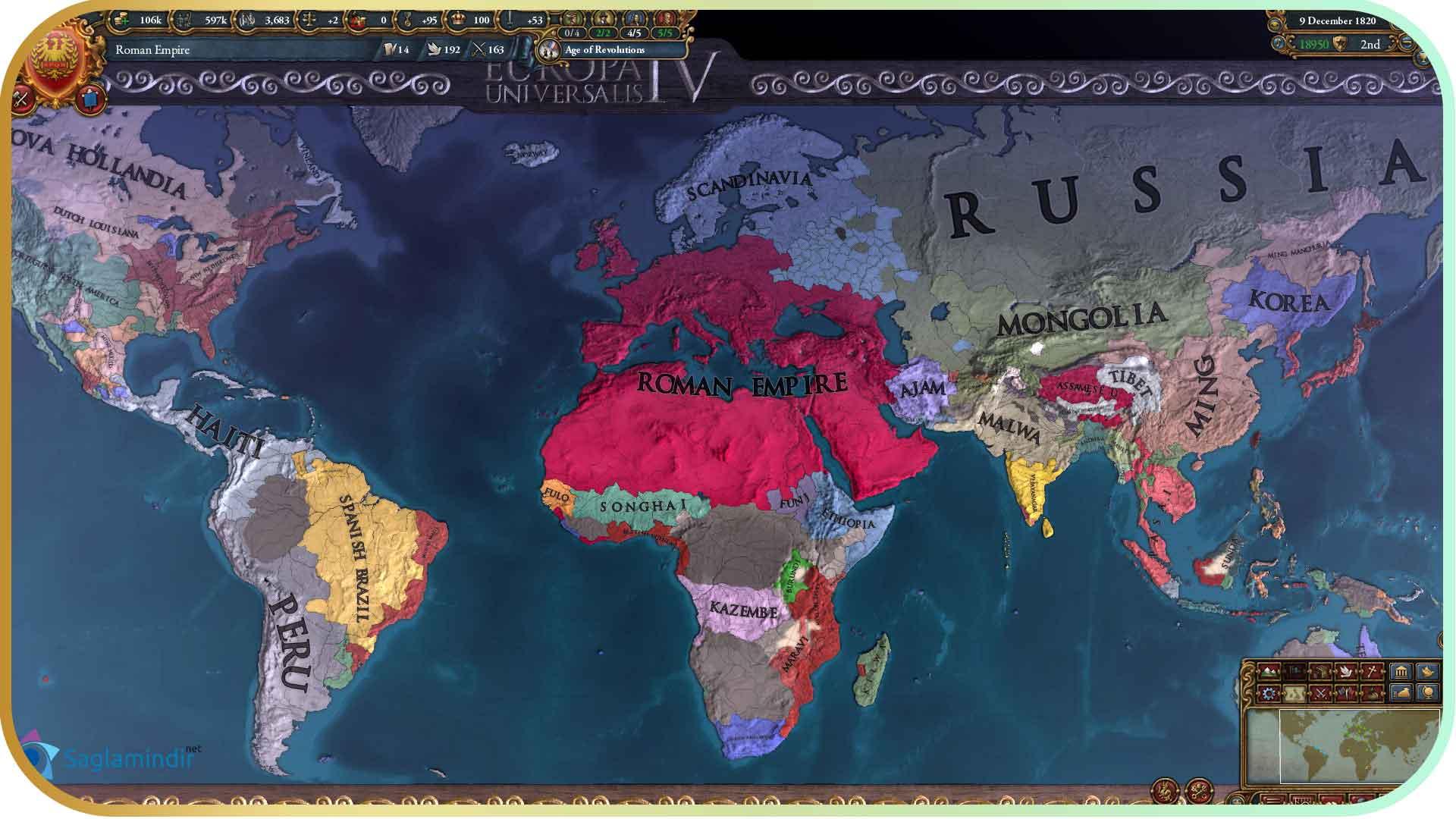 Europa Universalis 4 Mare Nostrum torrent indir