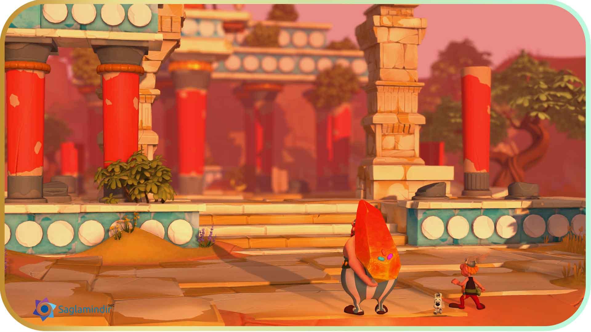 Asterix & Obelix XXL 3 The Crystal Menhir full indir