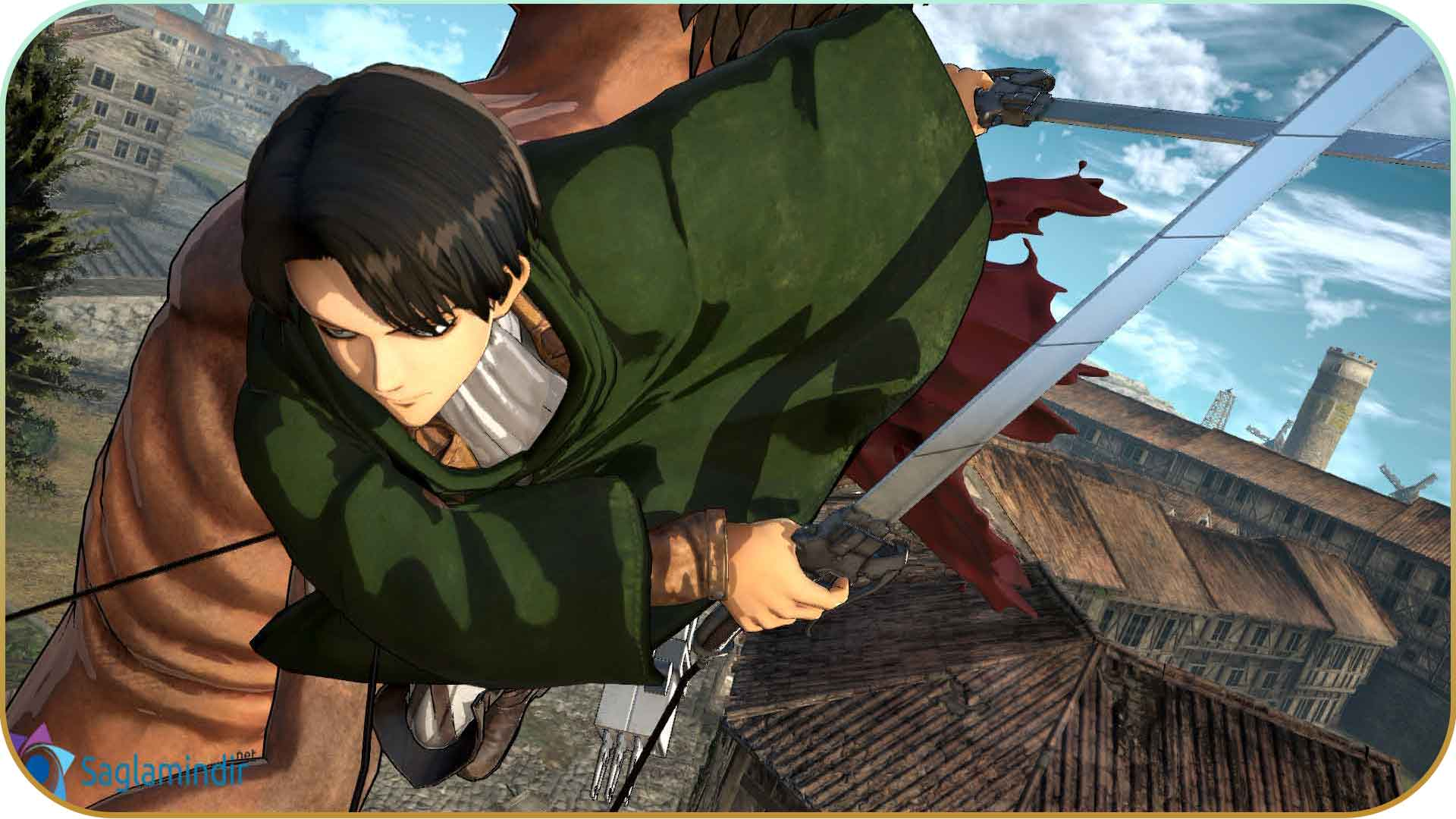 Attack on Titan Wings of Freedom torrrent indir