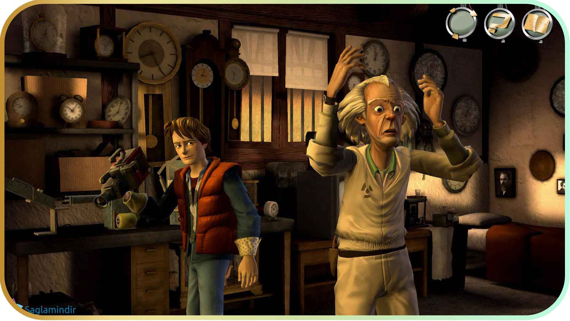 Back to the Future The Game torrent indir