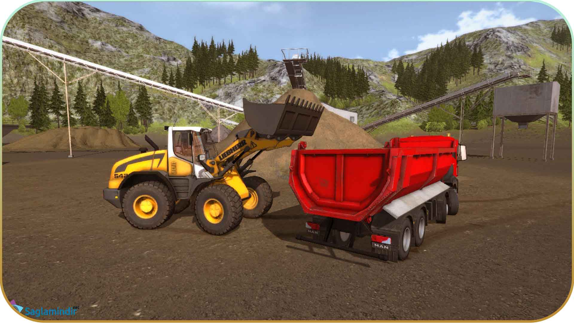 Construction Simulator 2015 saglamindir