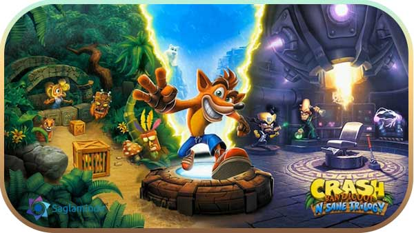 Crash Bandicoot N. Sane Trilogy indir