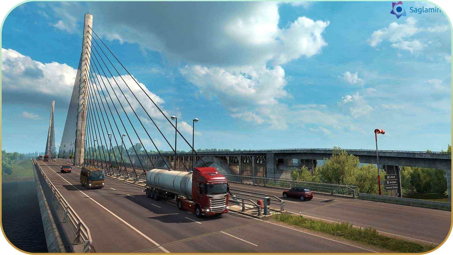 Euro Truck Simulator 2 Vive la France torrent indir