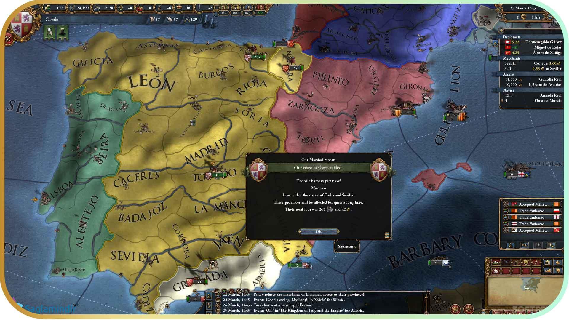 Europa Universalis 4 Mare Nostrum full indir