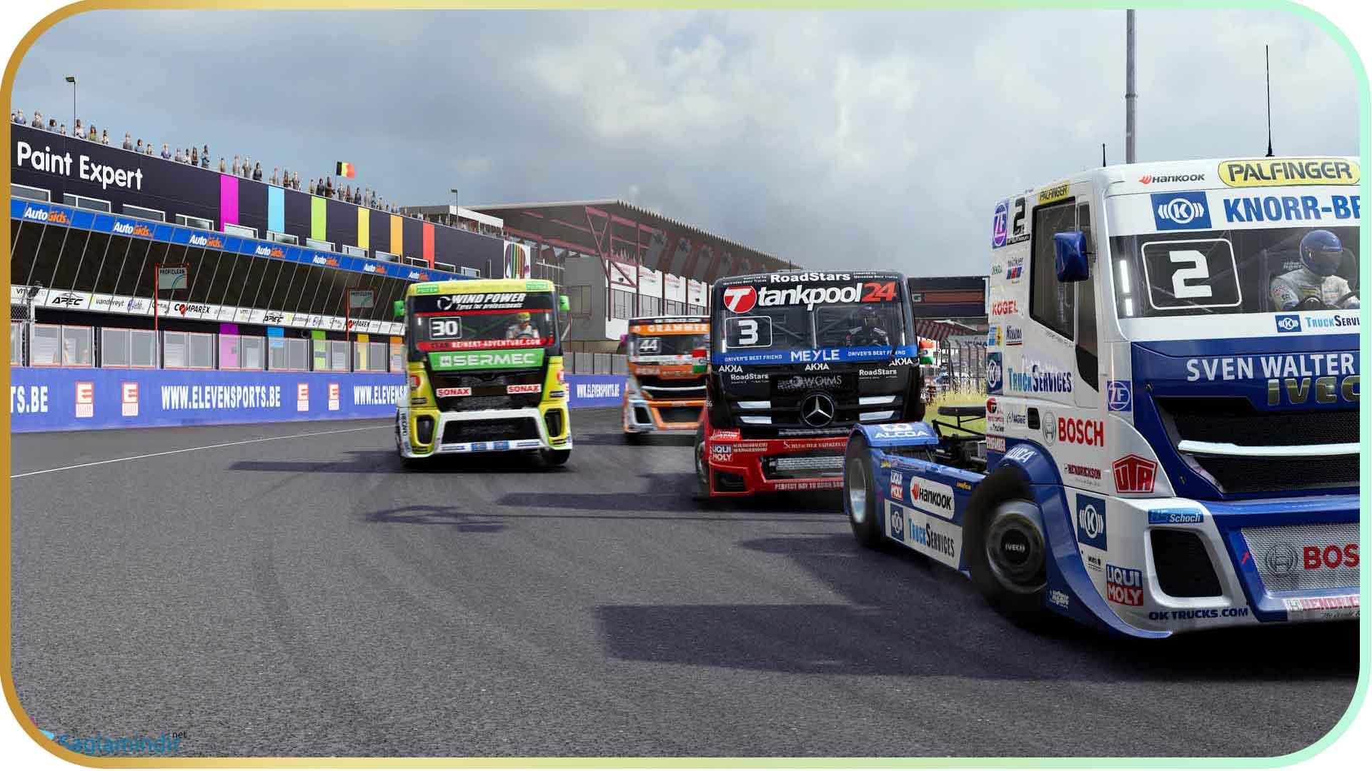 FIA European Truck Racing Championship full indir