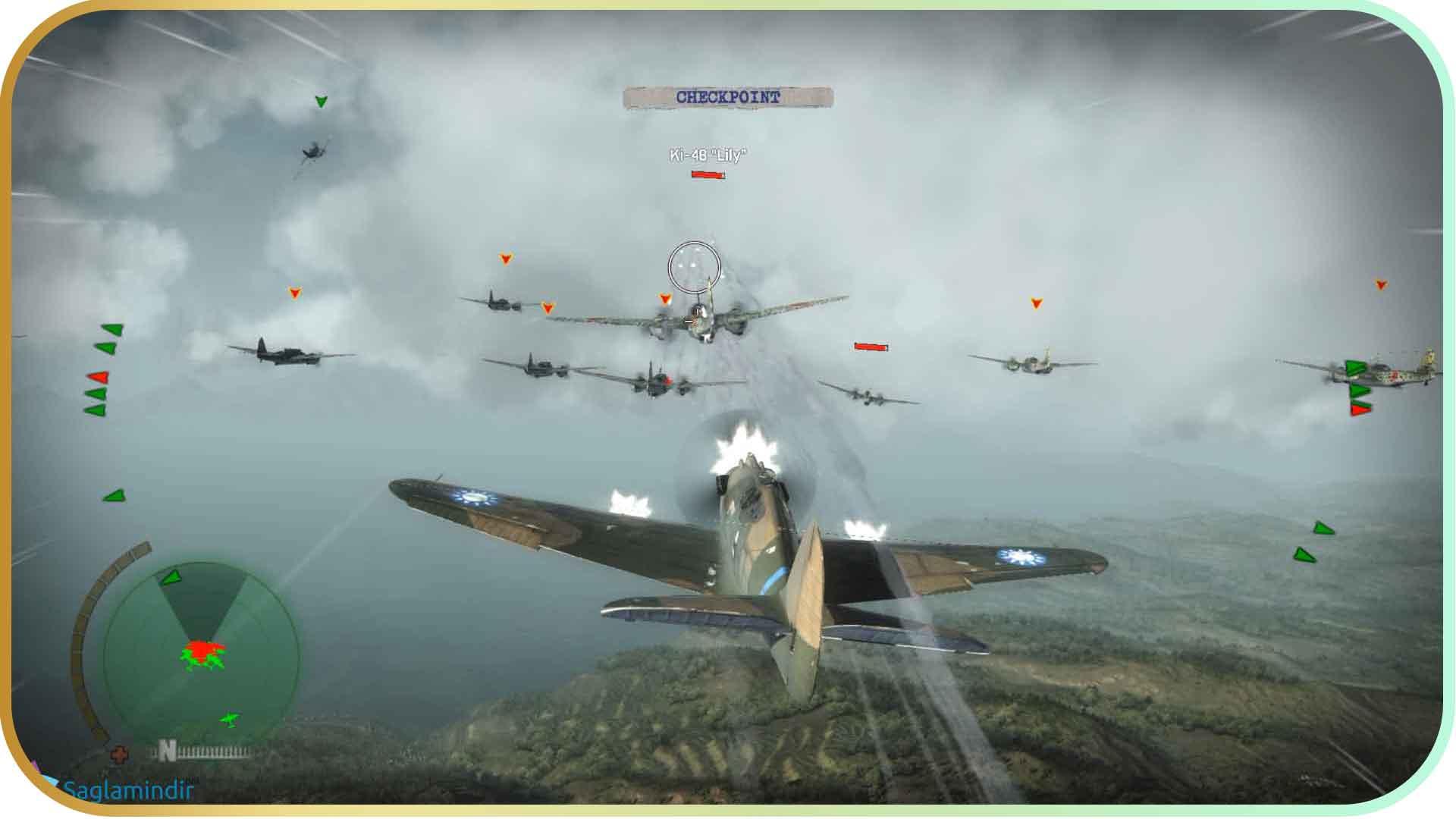 Flying Tigers Shadows Over China saglamindir