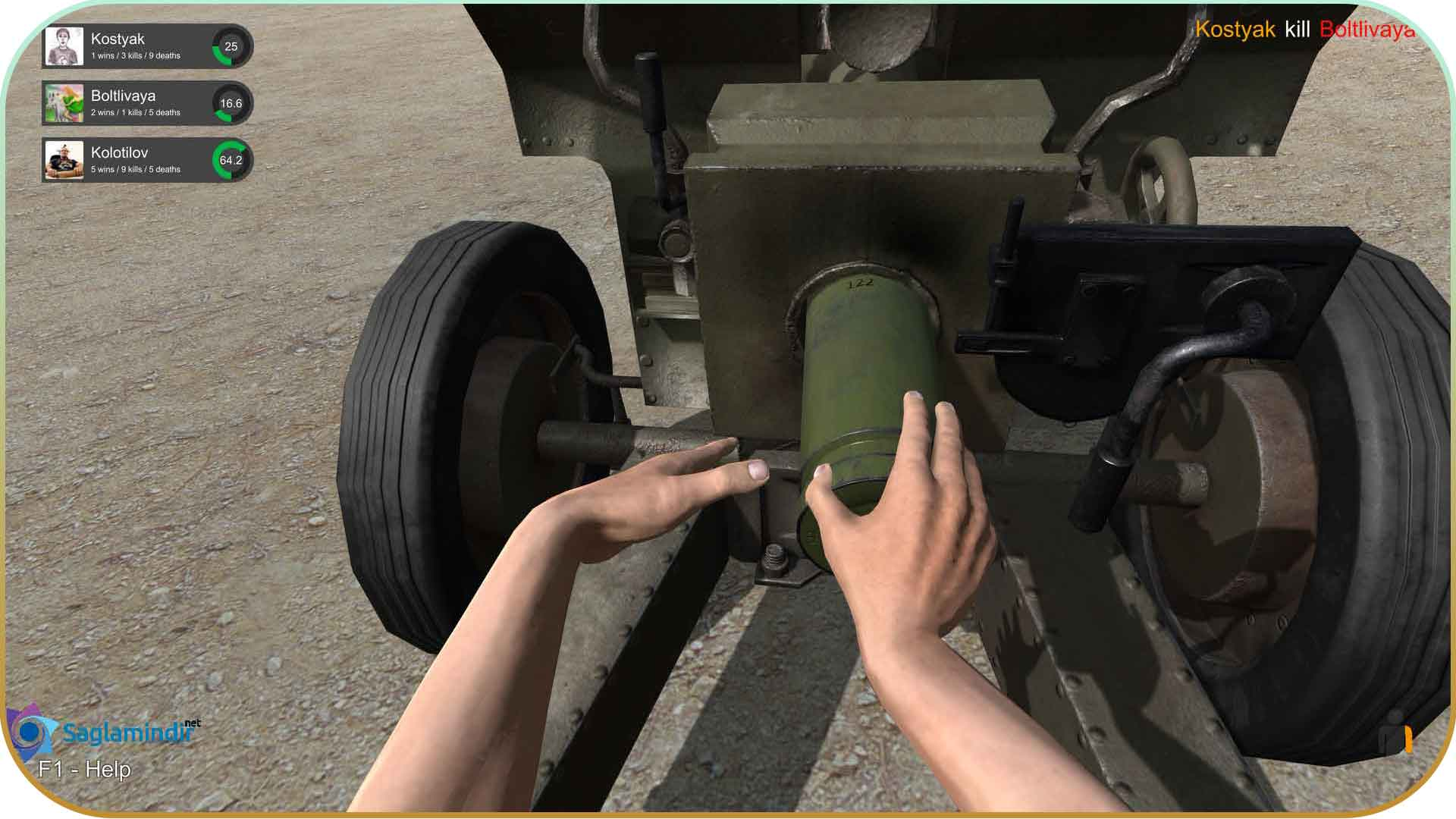 Hand Simulator full indir