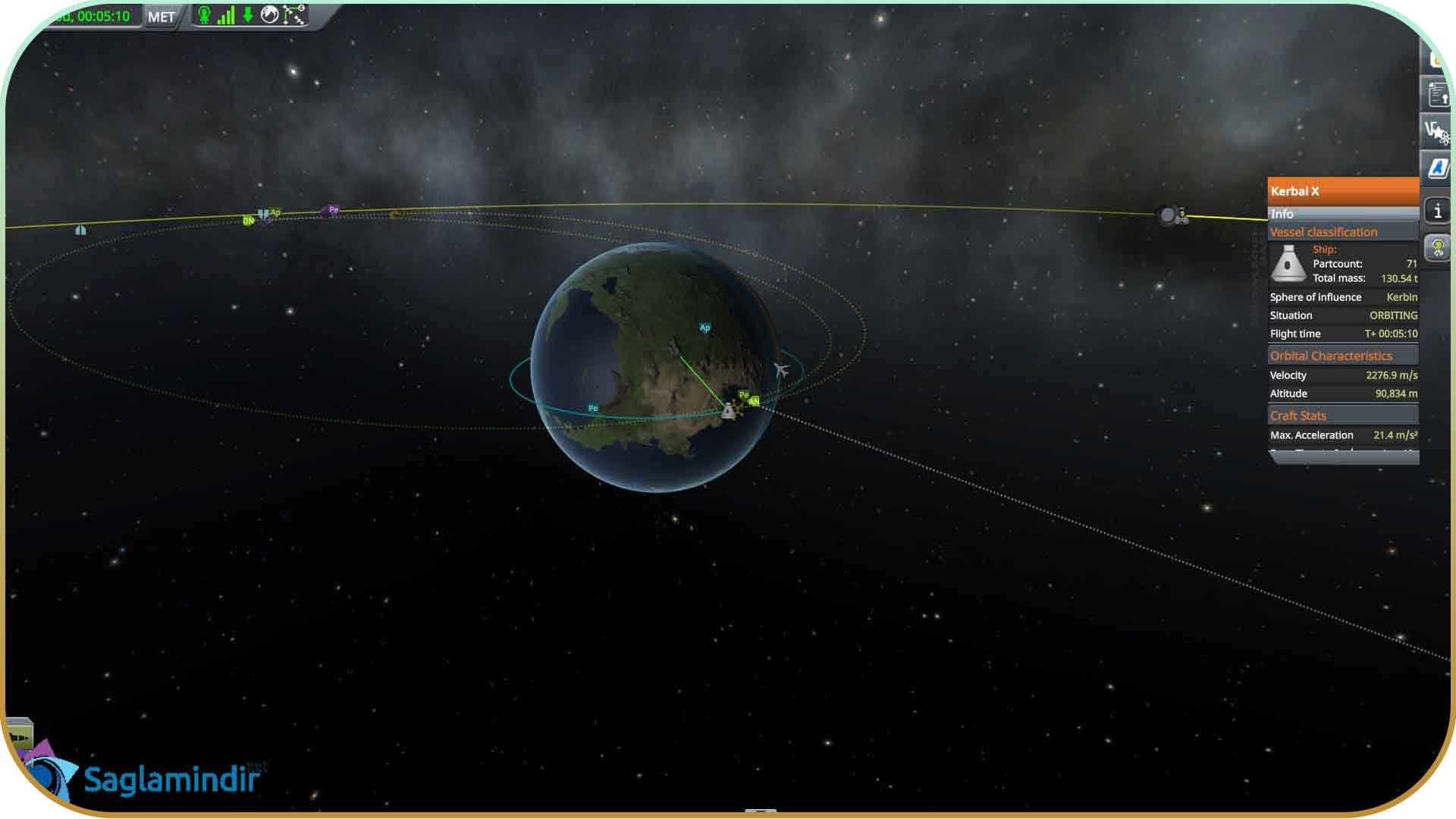 Kerbal Space Program saglamindir