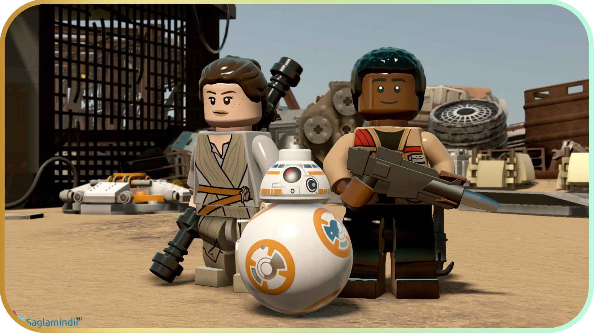 LEGO Star Wars The Force Awakens full indir