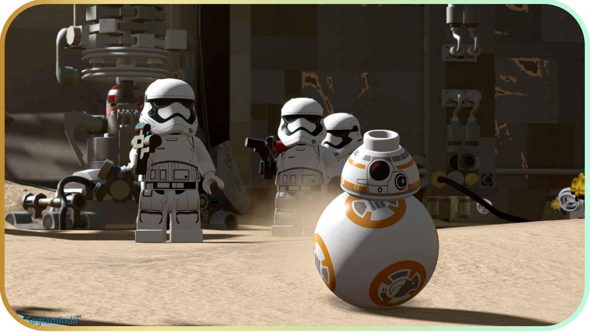 LEGO Star Wars The Force Awakens saglamindir