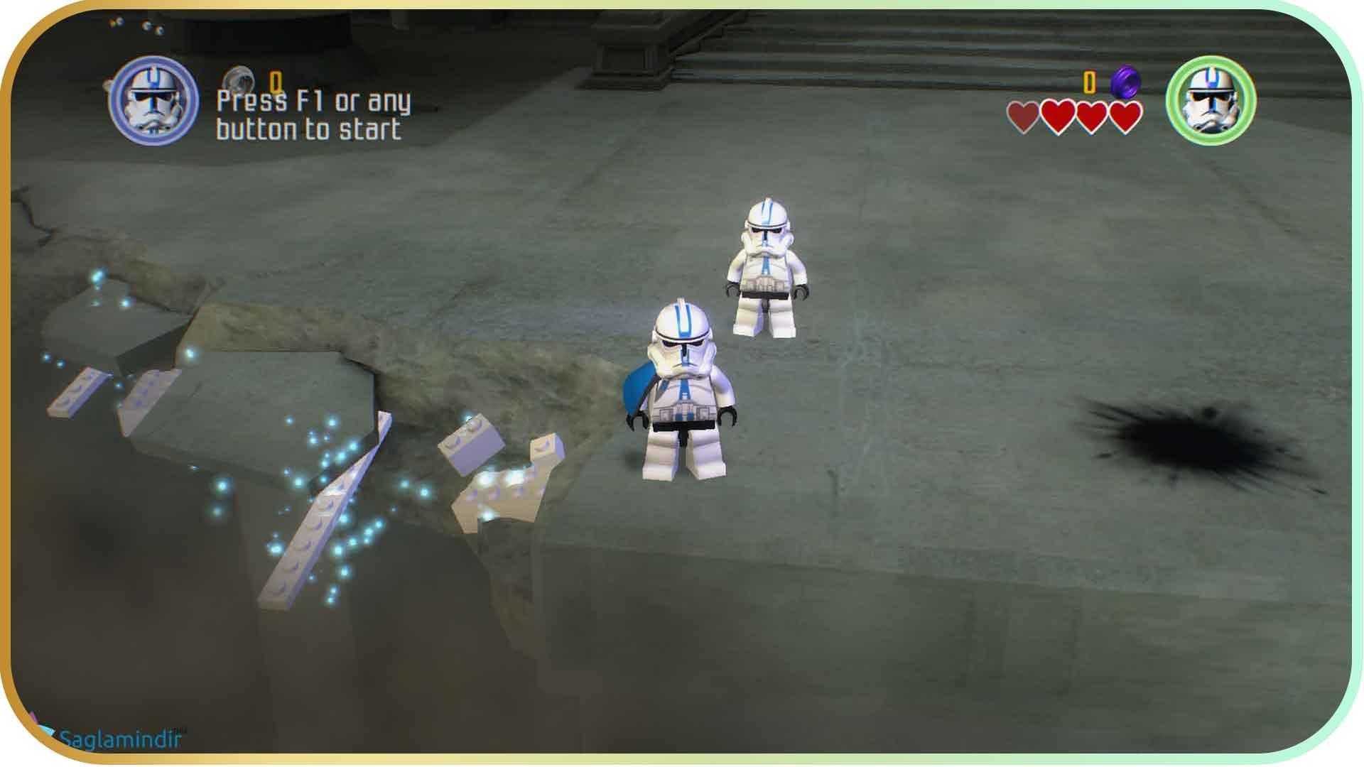 Lego Star Wars The Complete Saga saglamindir