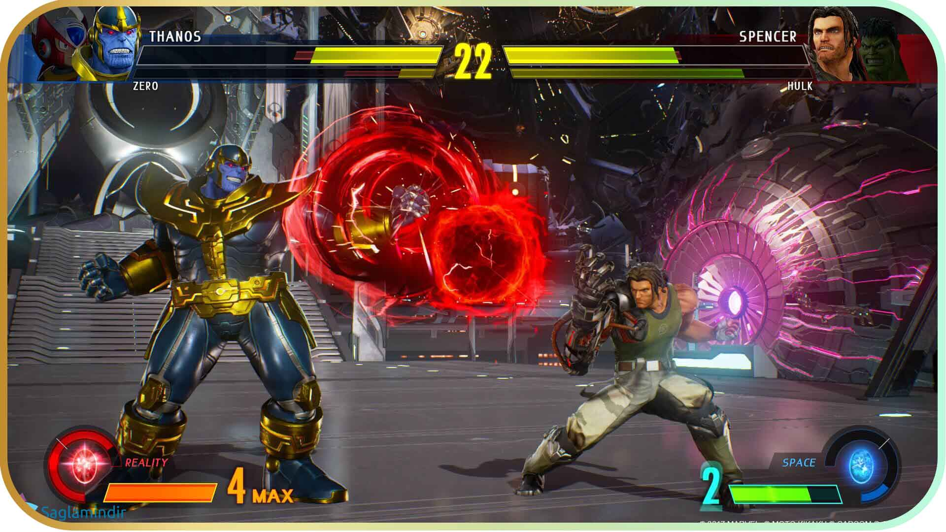 Marvel vs. Capcom Infinite torrent indir