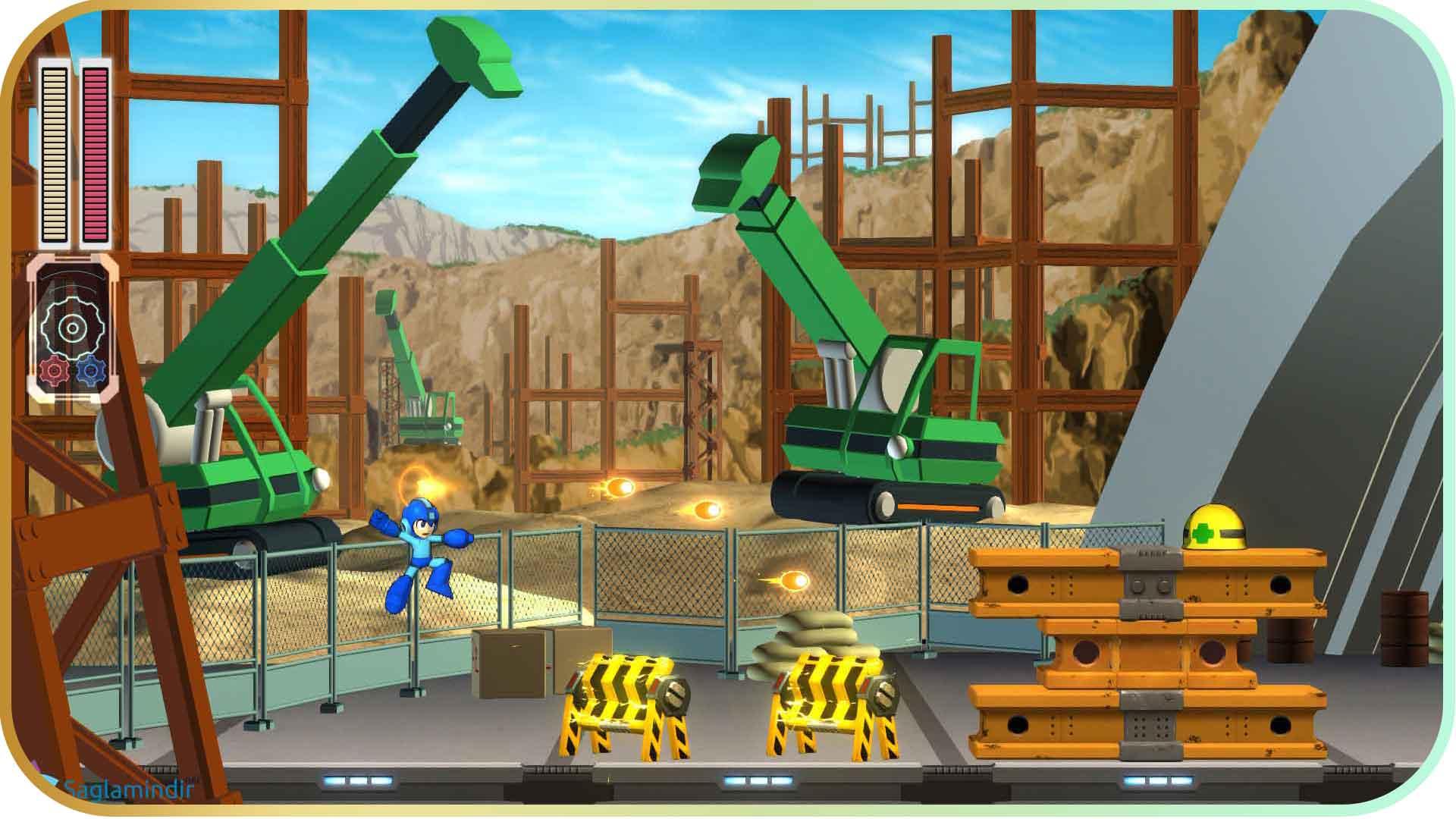 Mega Man saglamindir
