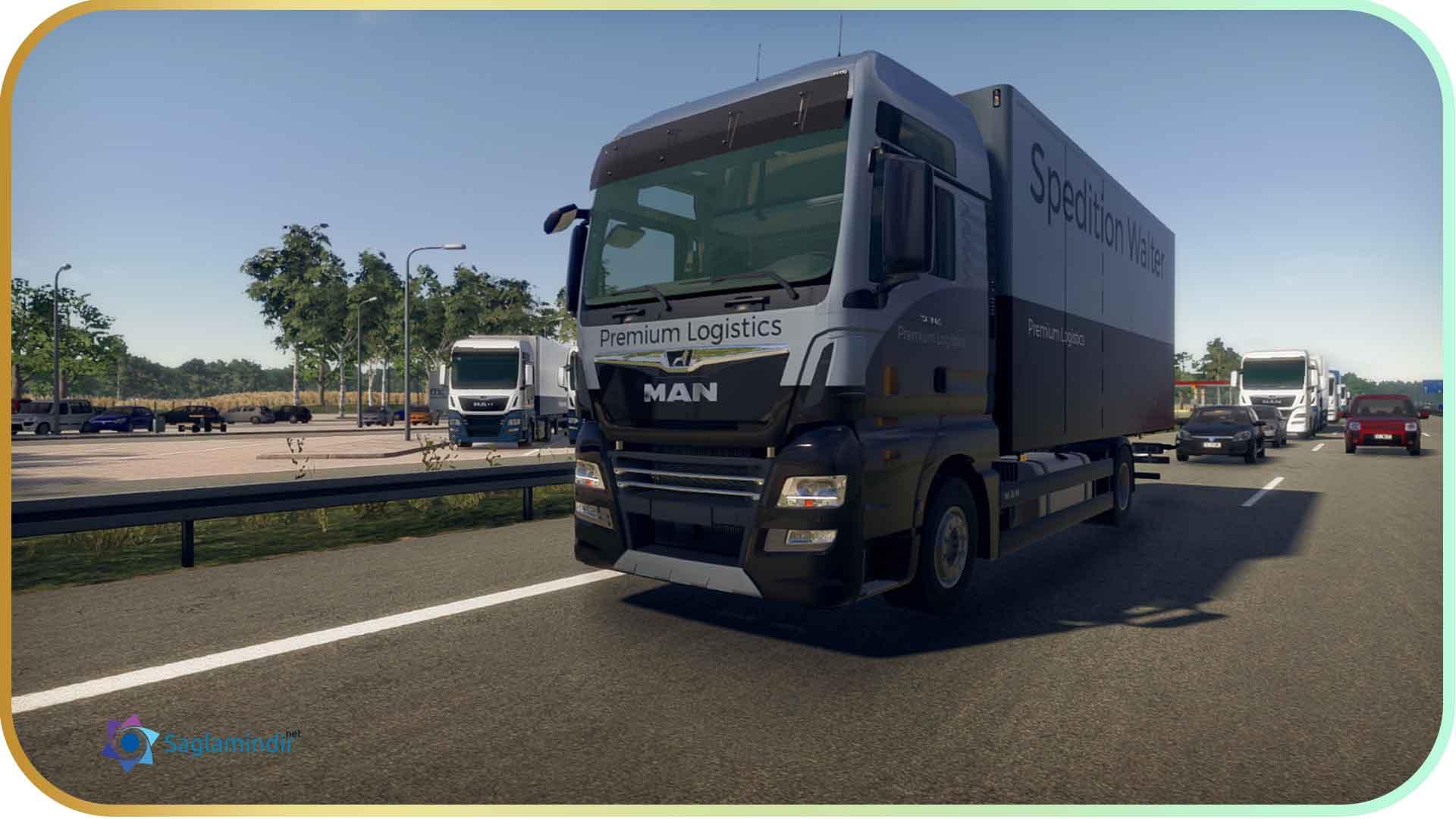 On The Road Truck Simulator full indir