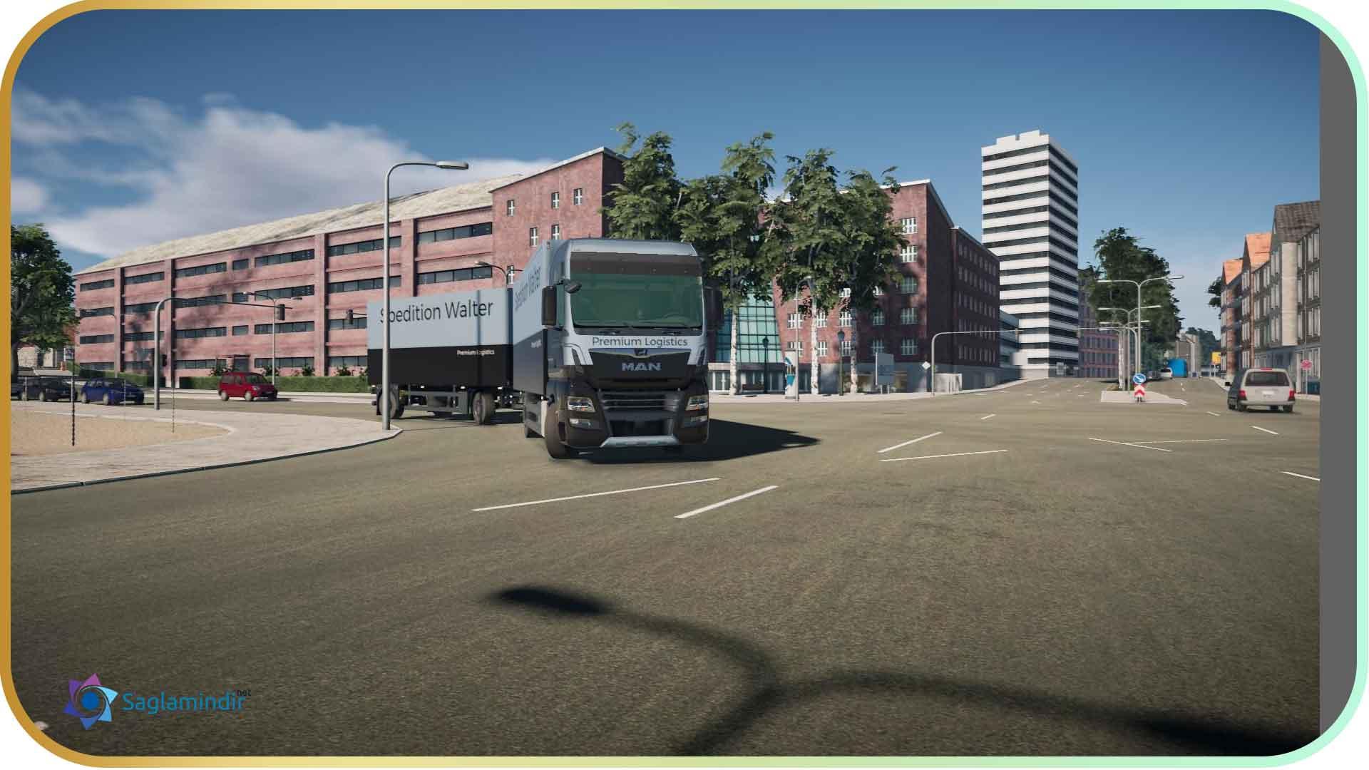 On The Road Truck Simulator torrent indir