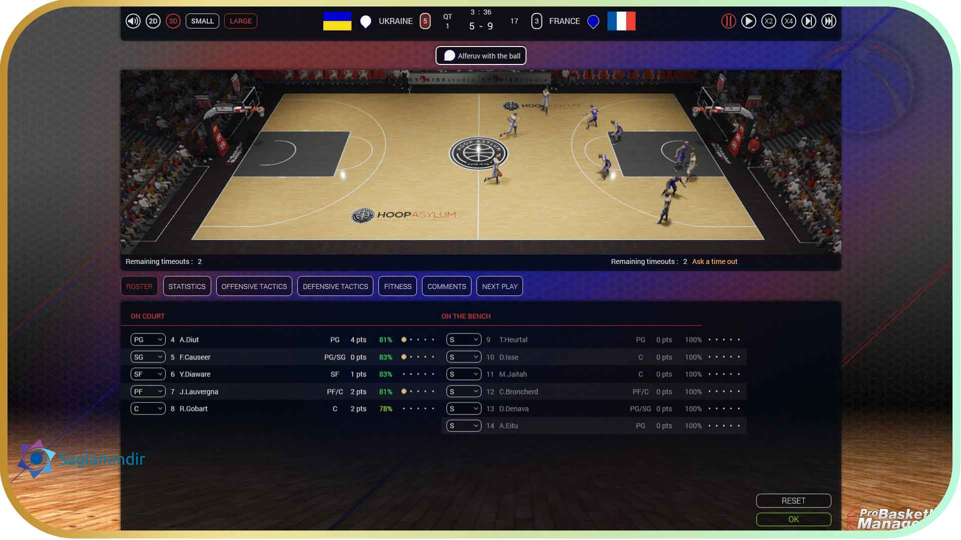 Pro Basketball Manager 2016 torrent indir