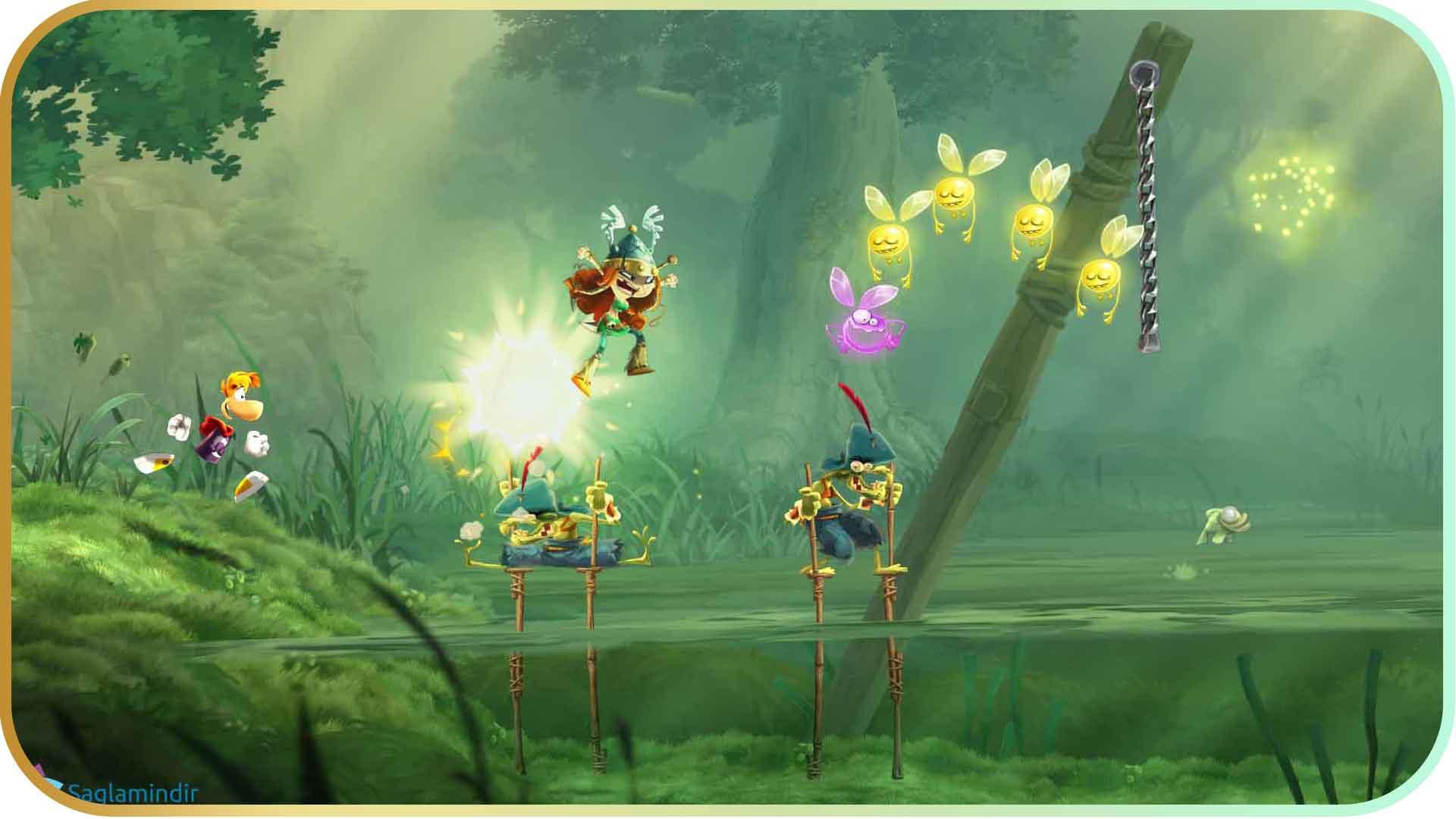 Rayman Origins saglamindir