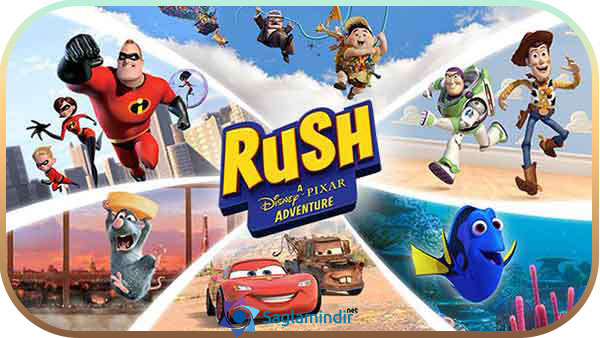 Rush A Disney Pixar Adventure indir