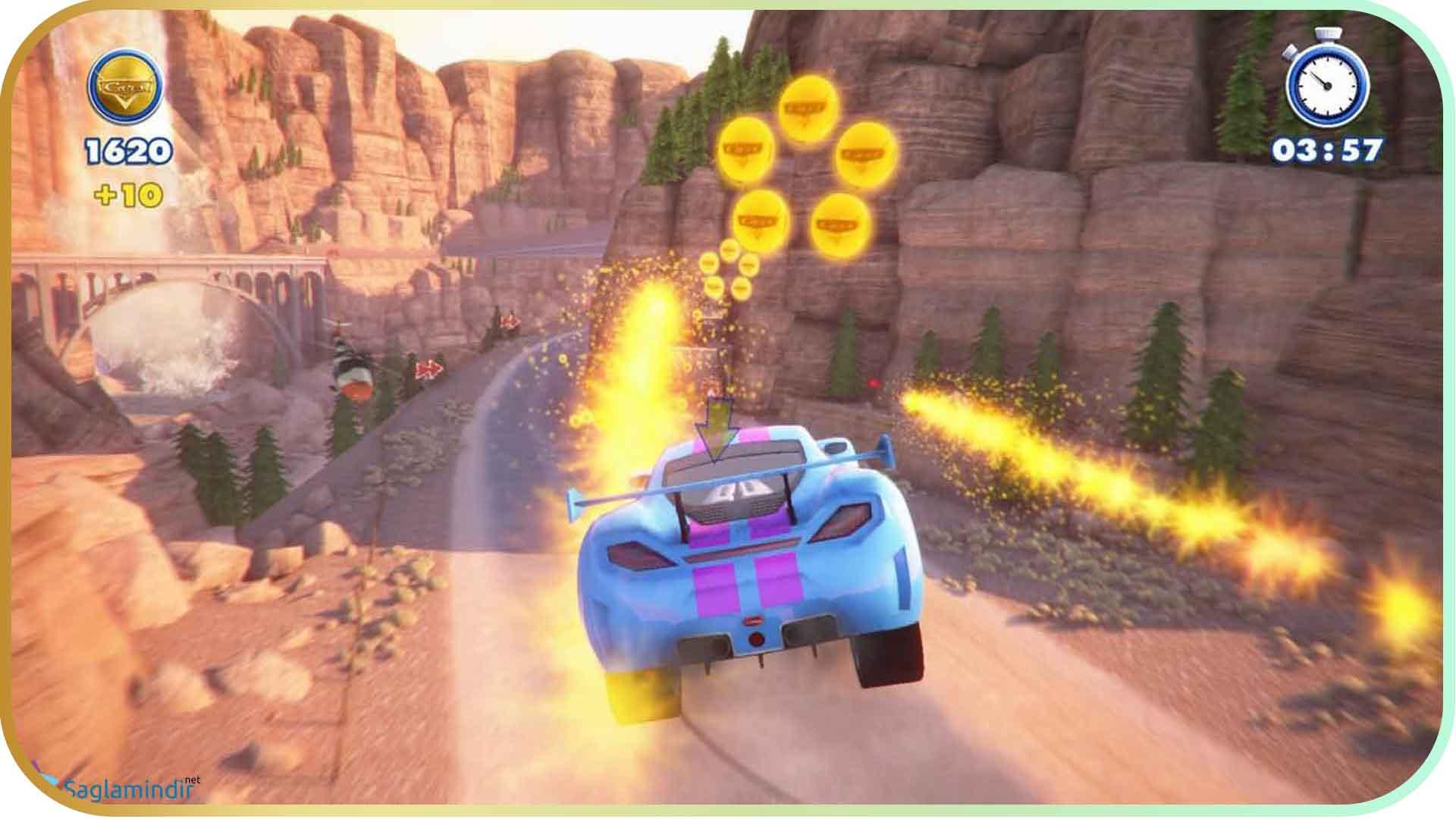 Rush A Disney Pixar Adventure saglamindir