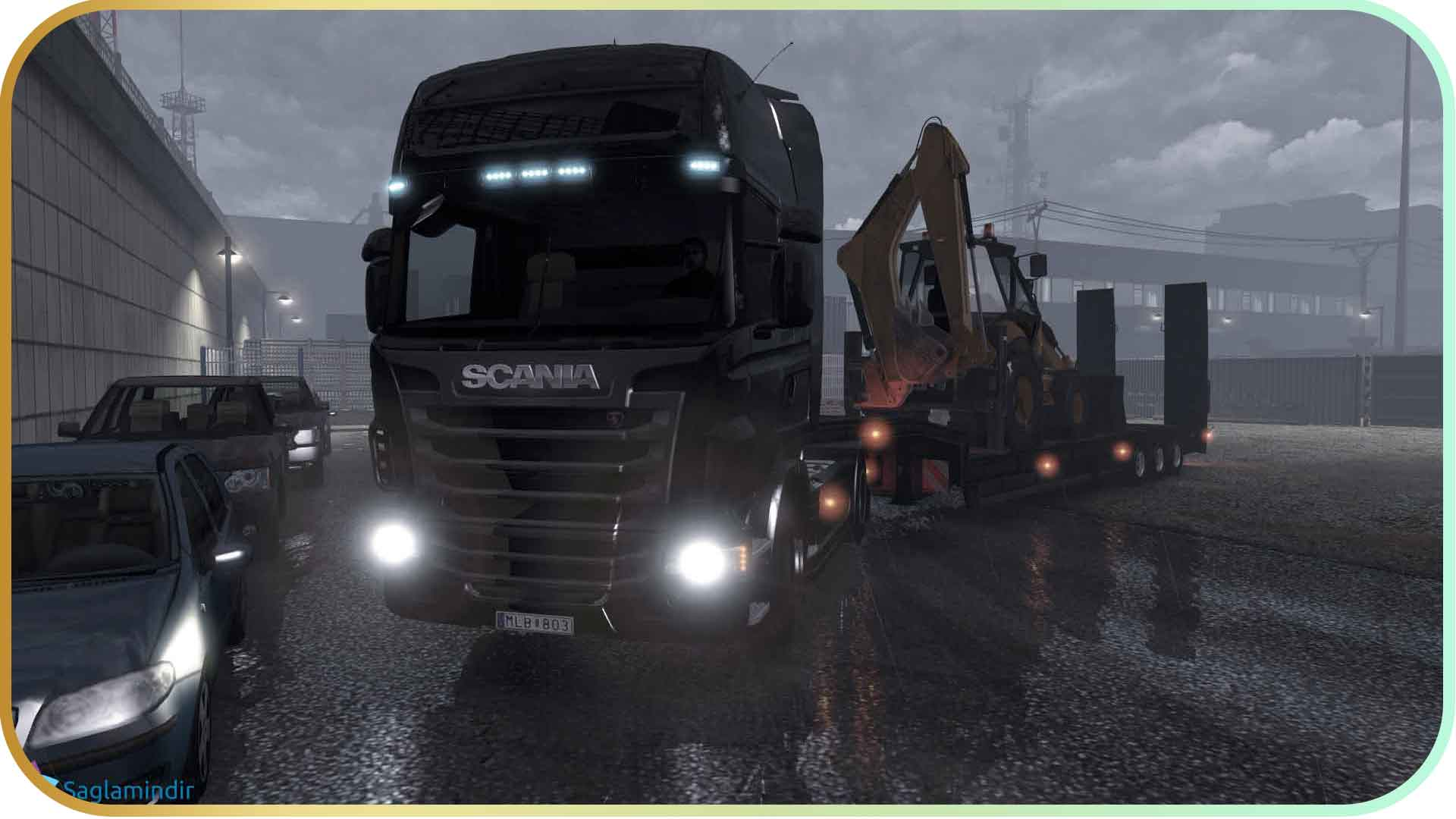 Scania Truck Driving Simulator full indir