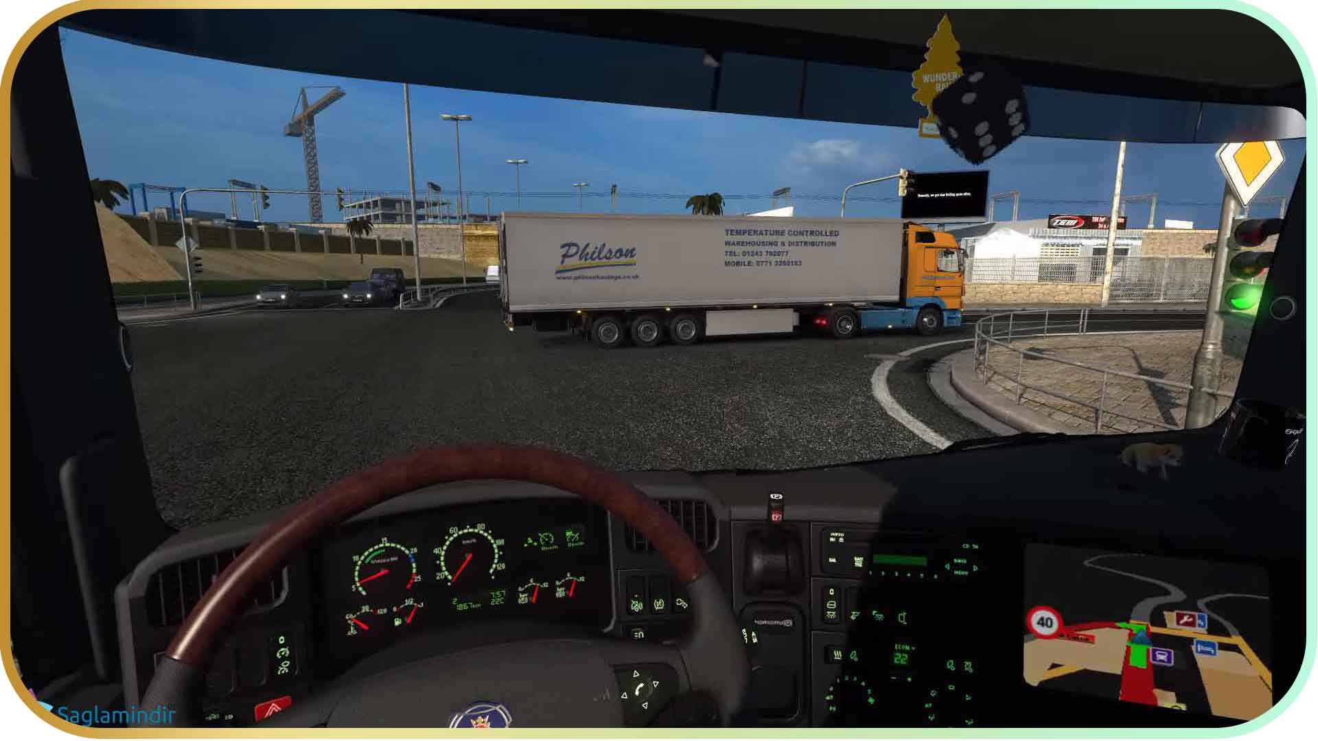 Scania Truck Driving Simulator saglamindir