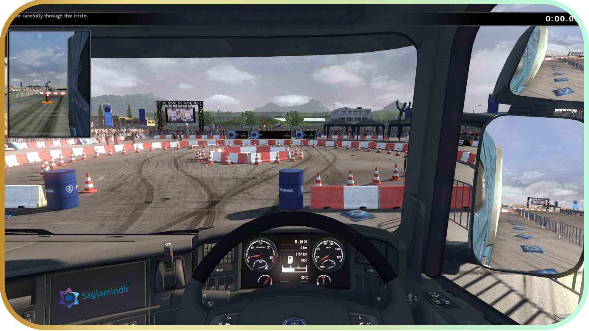 Scania Truck Driving Simulator torrent indir