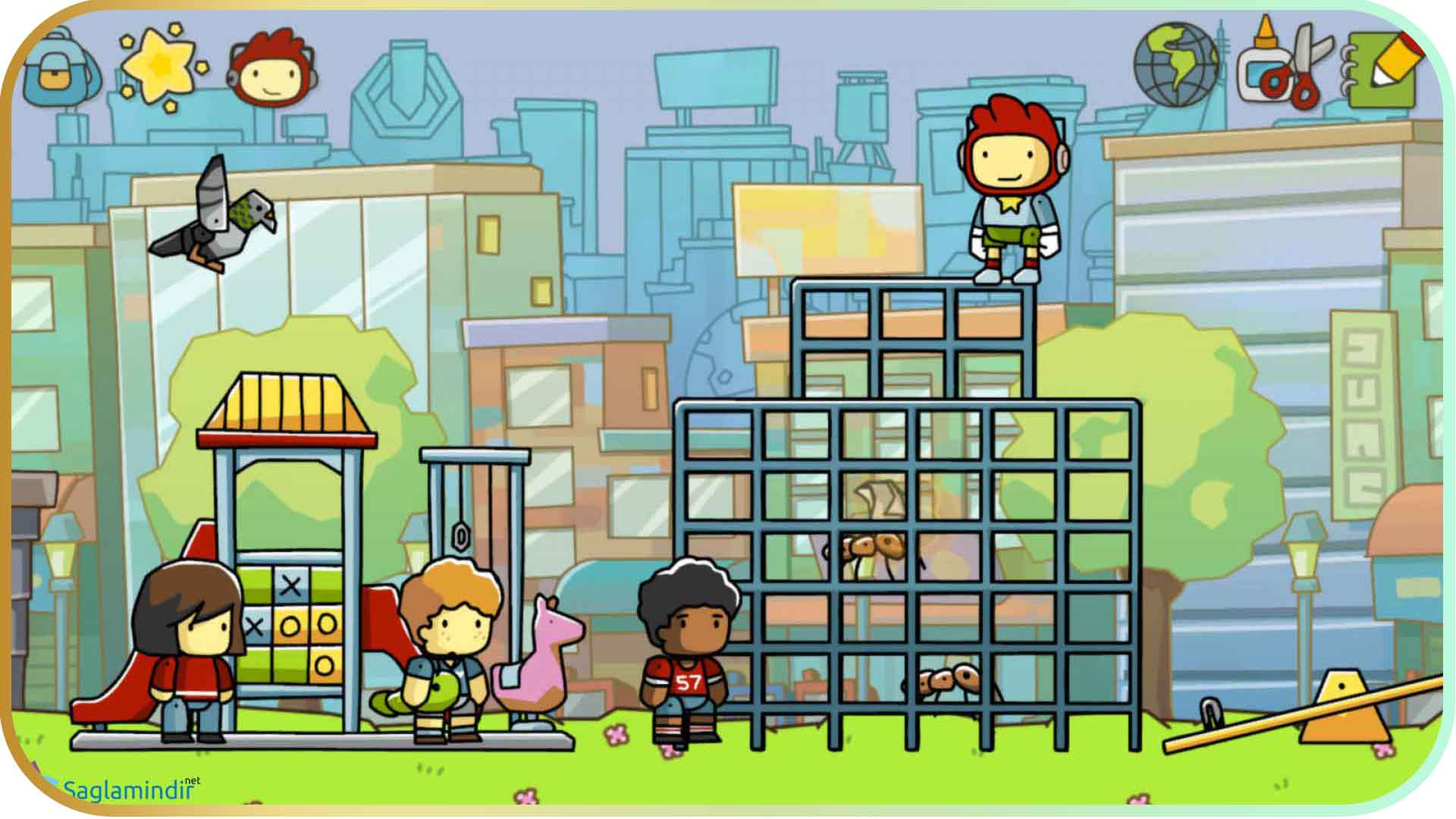 Scribblenauts Unlimited full indir