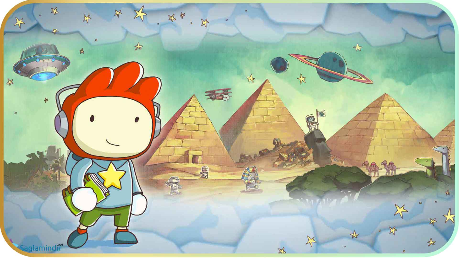 Scribblenauts Unlimited torrent indir